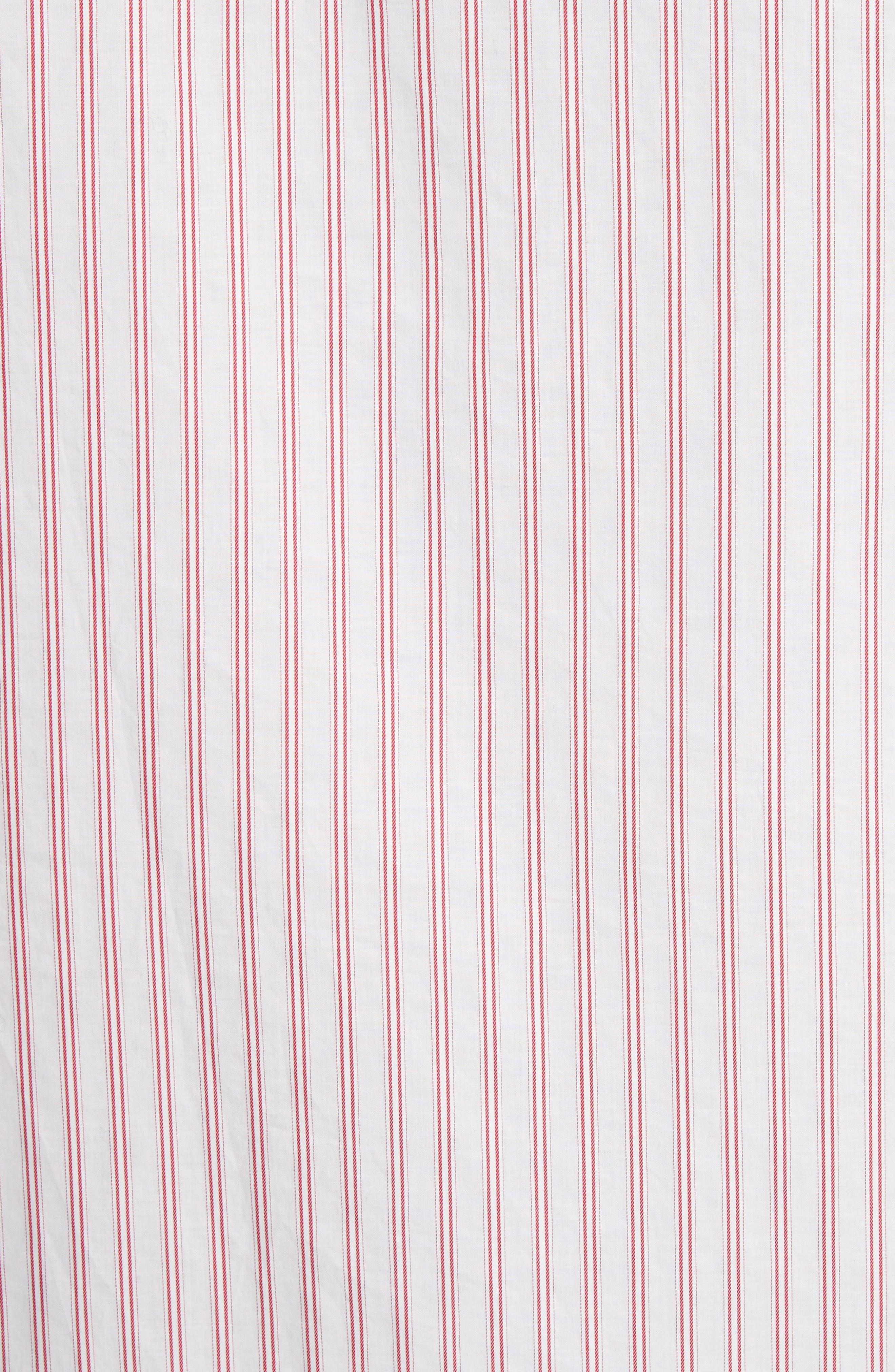 Aega Striped Sport Shirt,                             Alternate thumbnail 6, color,                             Unico