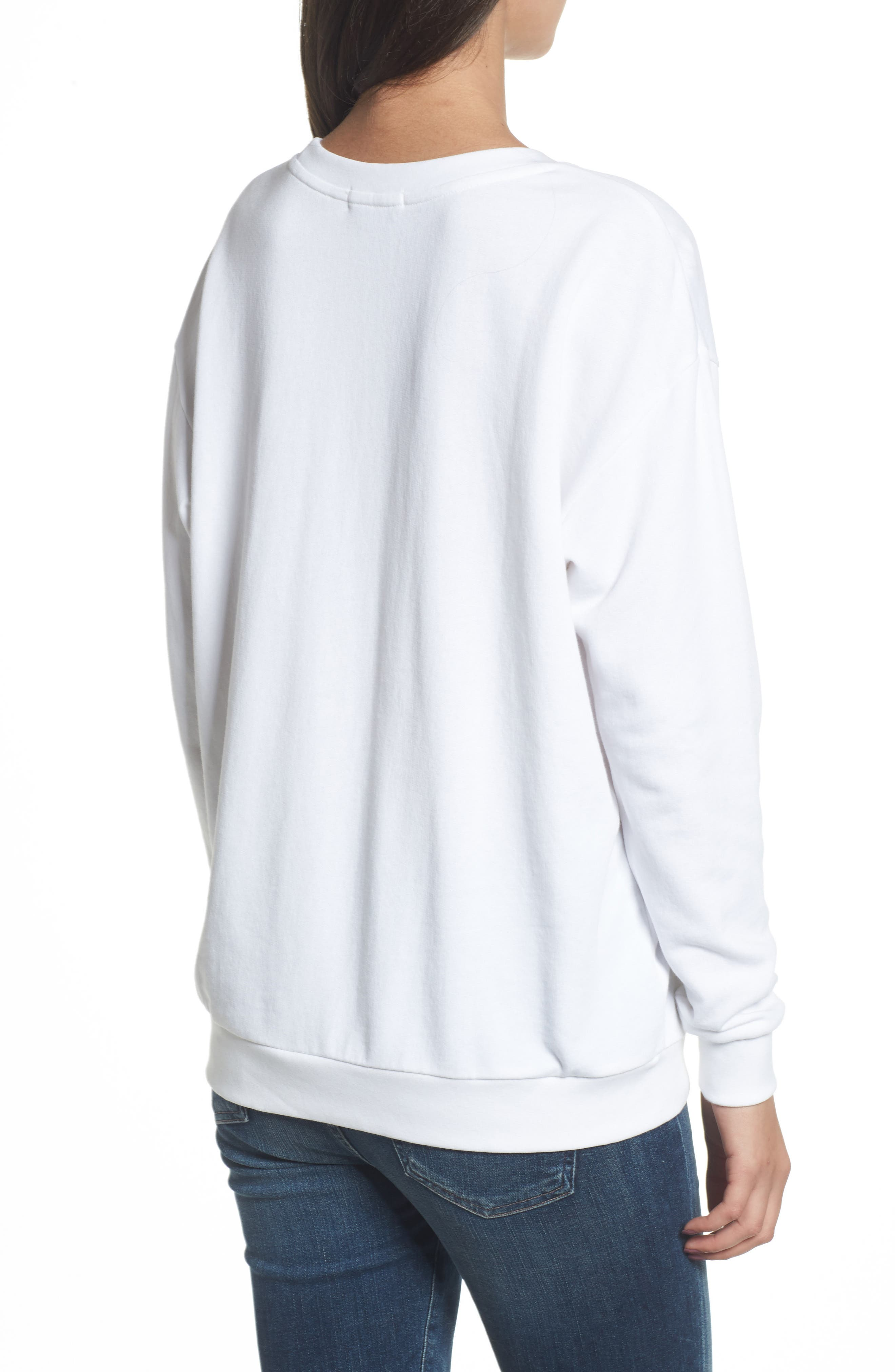 Alternate Image 2  - South Parade Alexa - Evil Eye Sweatshirt
