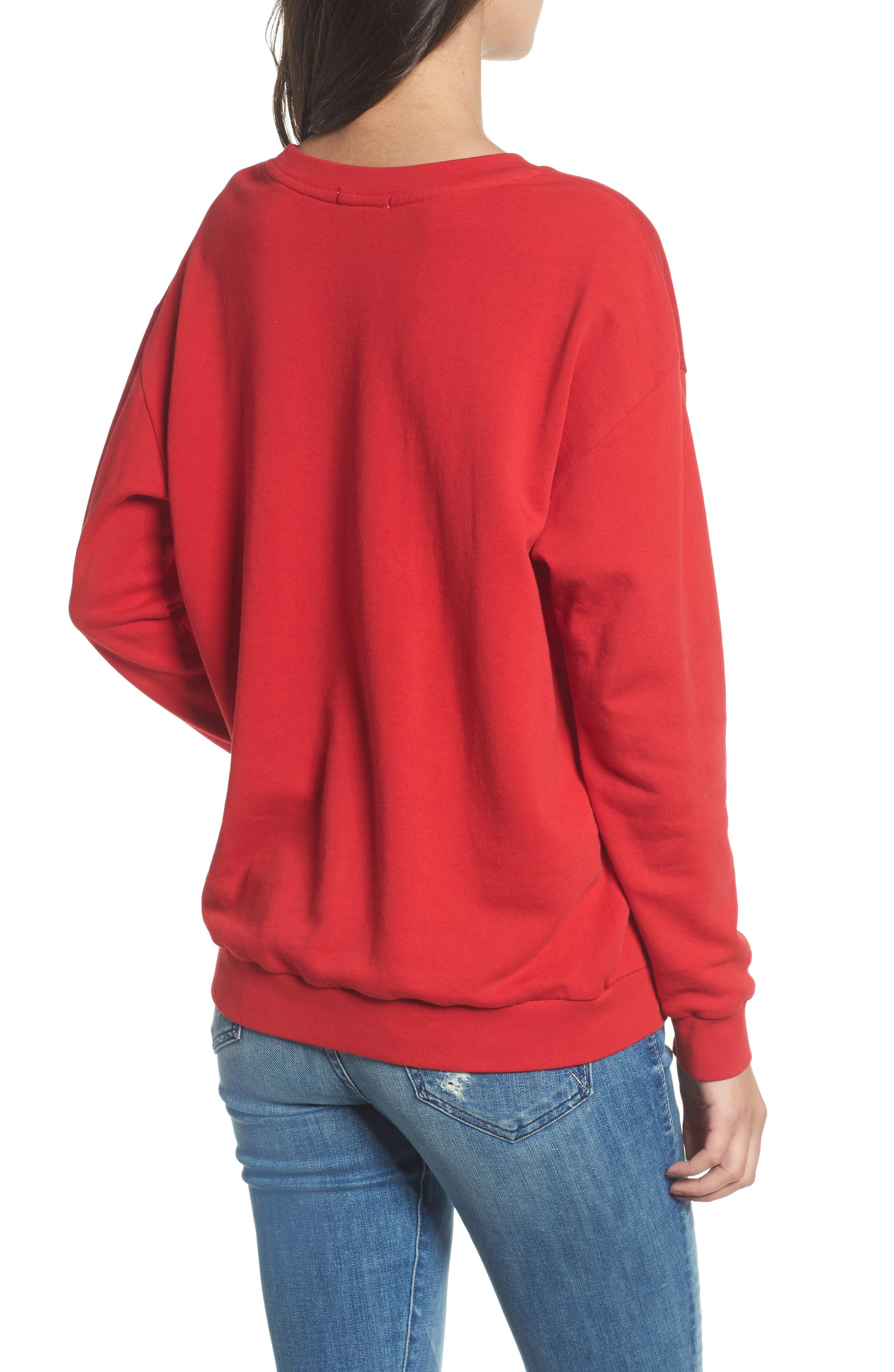 Alternate Image 2  - South Parade Alexa - Super Stars Sweatshirt