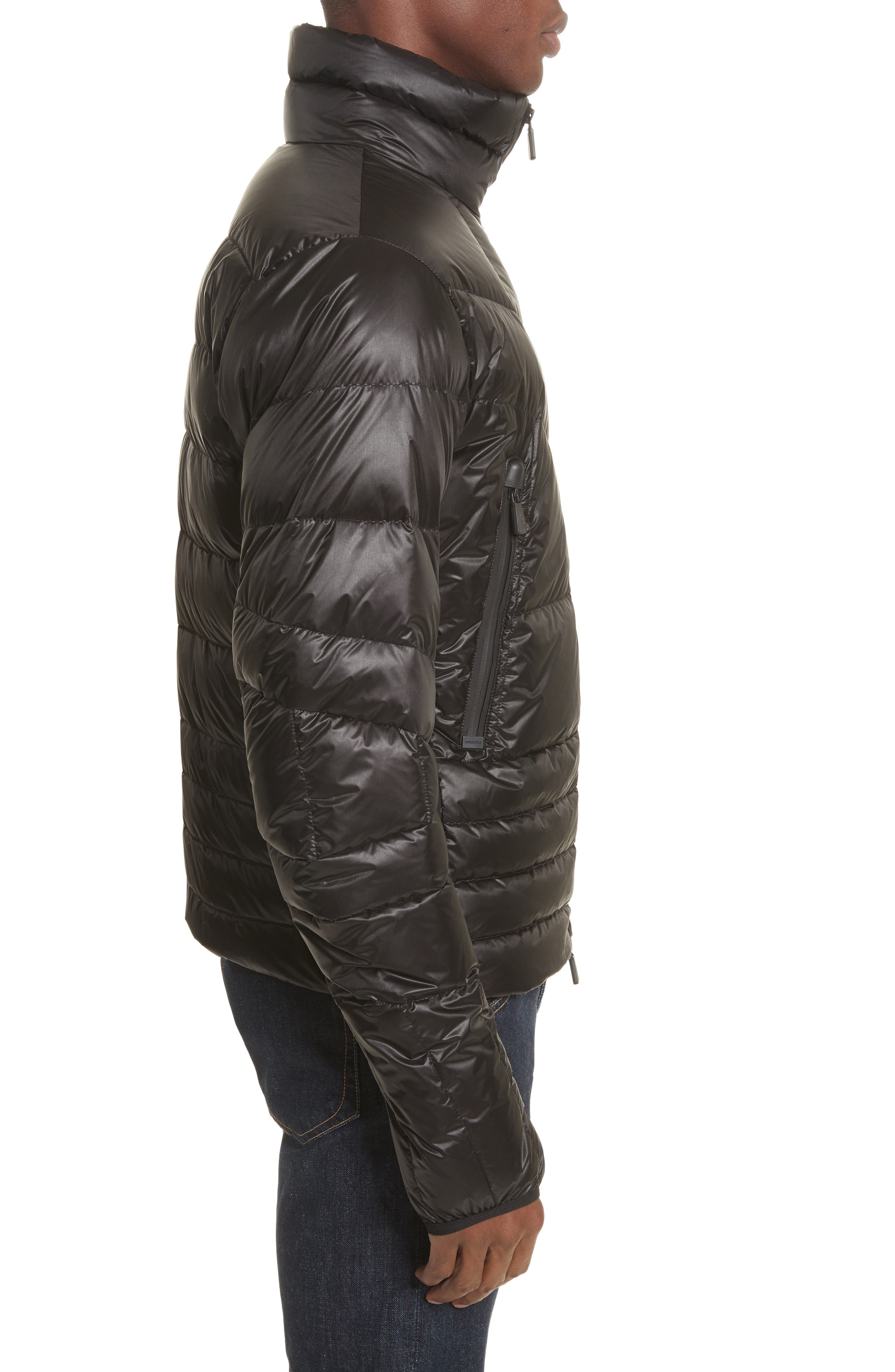 Grenoble Canmore Down Jacket,                             Alternate thumbnail 3, color,                             Black