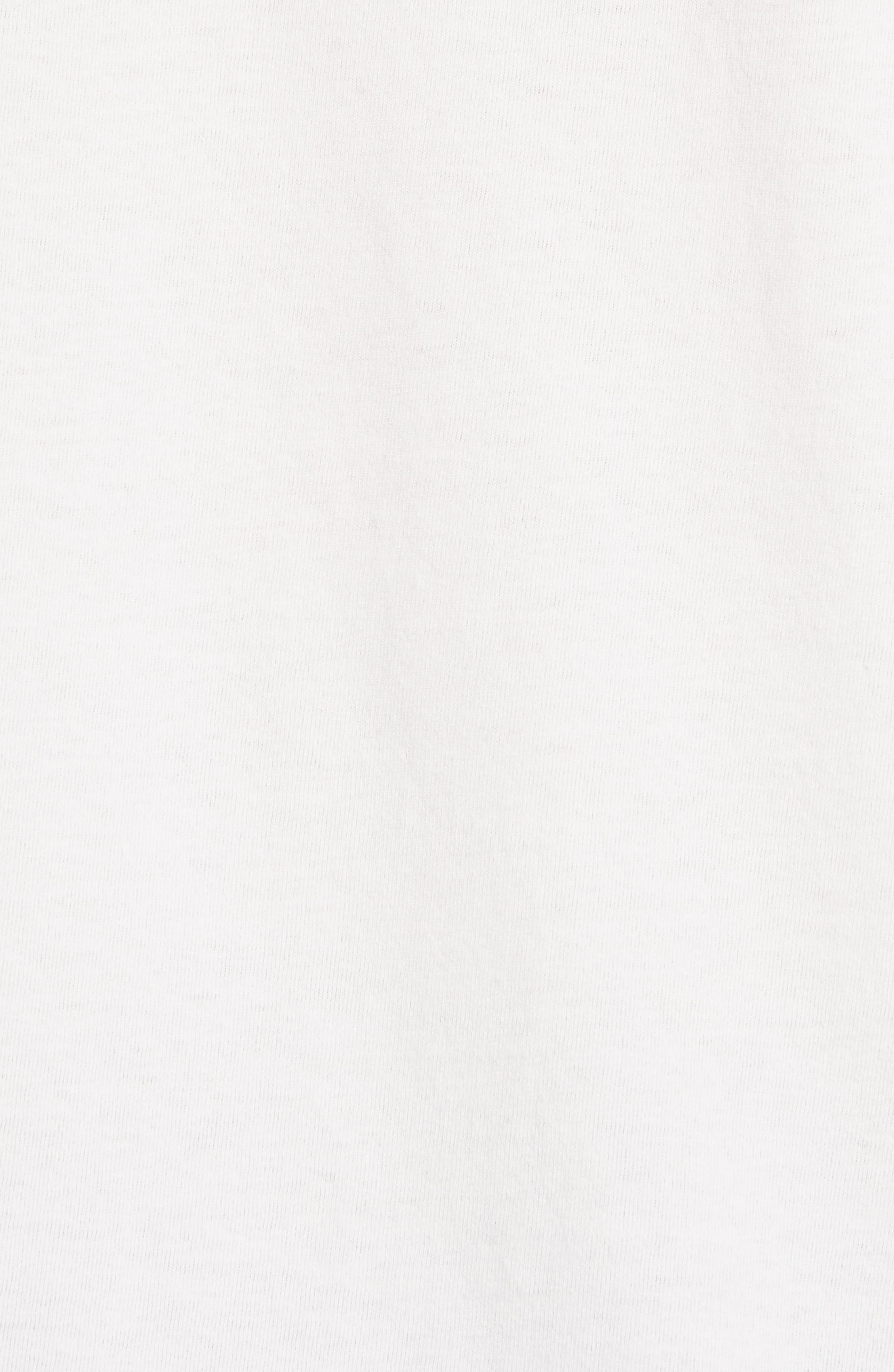 Fringe Logo Tee,                             Alternate thumbnail 5, color,                             Ivory
