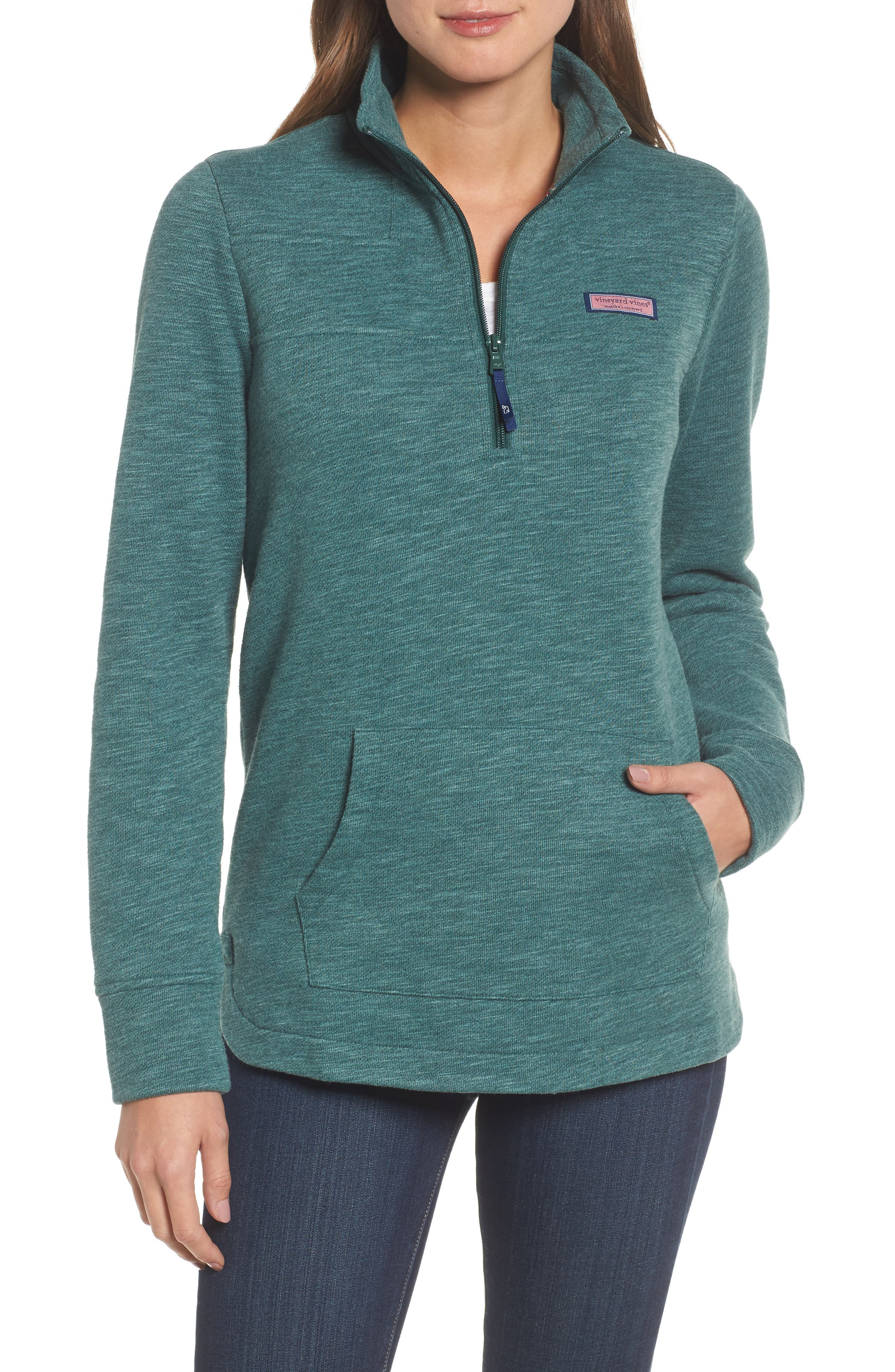 vineyard vines Relaxed Holiday Heather Shep Top