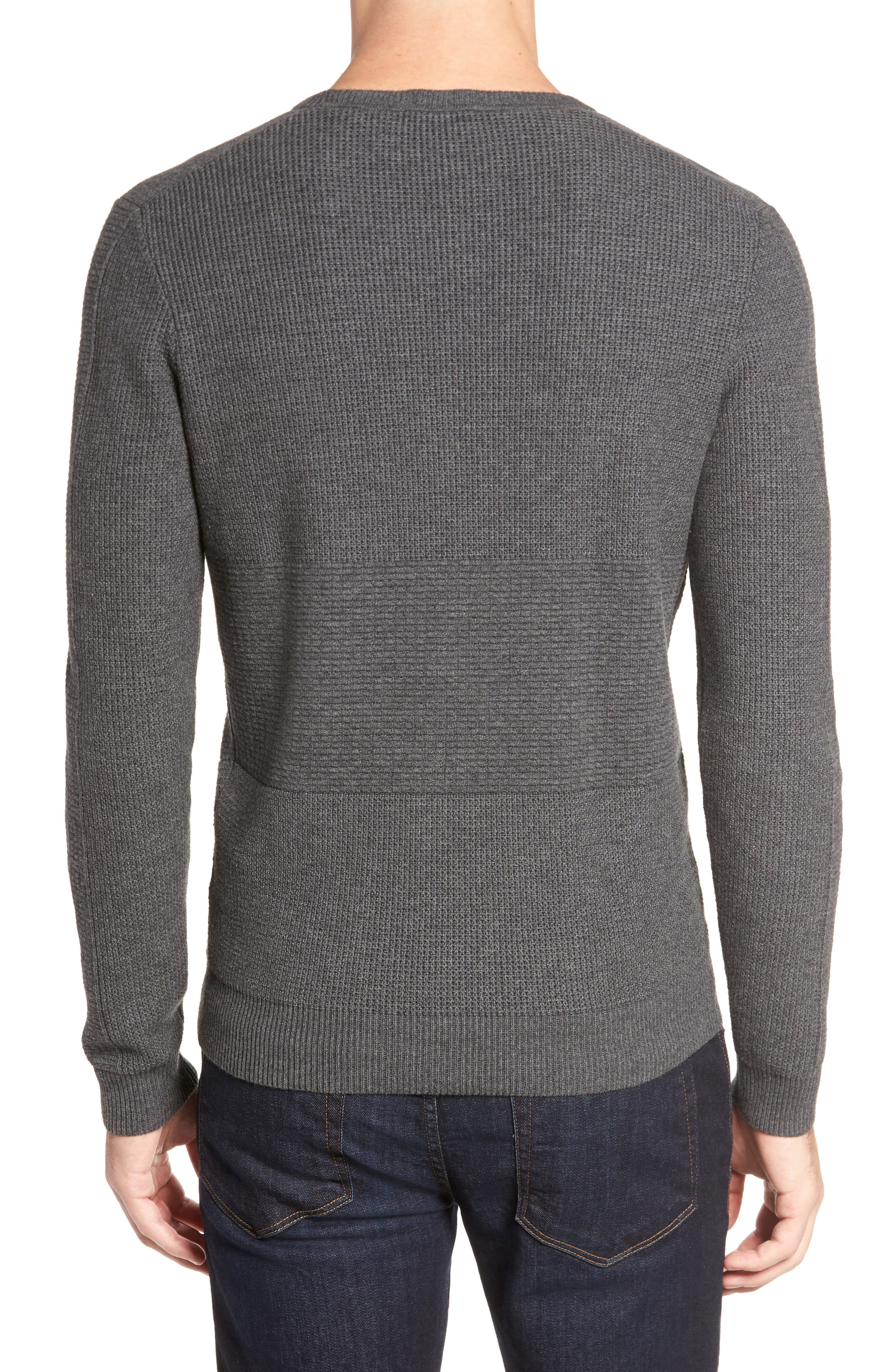 Naranjo Wool & Cotton Sweater,                             Alternate thumbnail 2, color,                             Grey