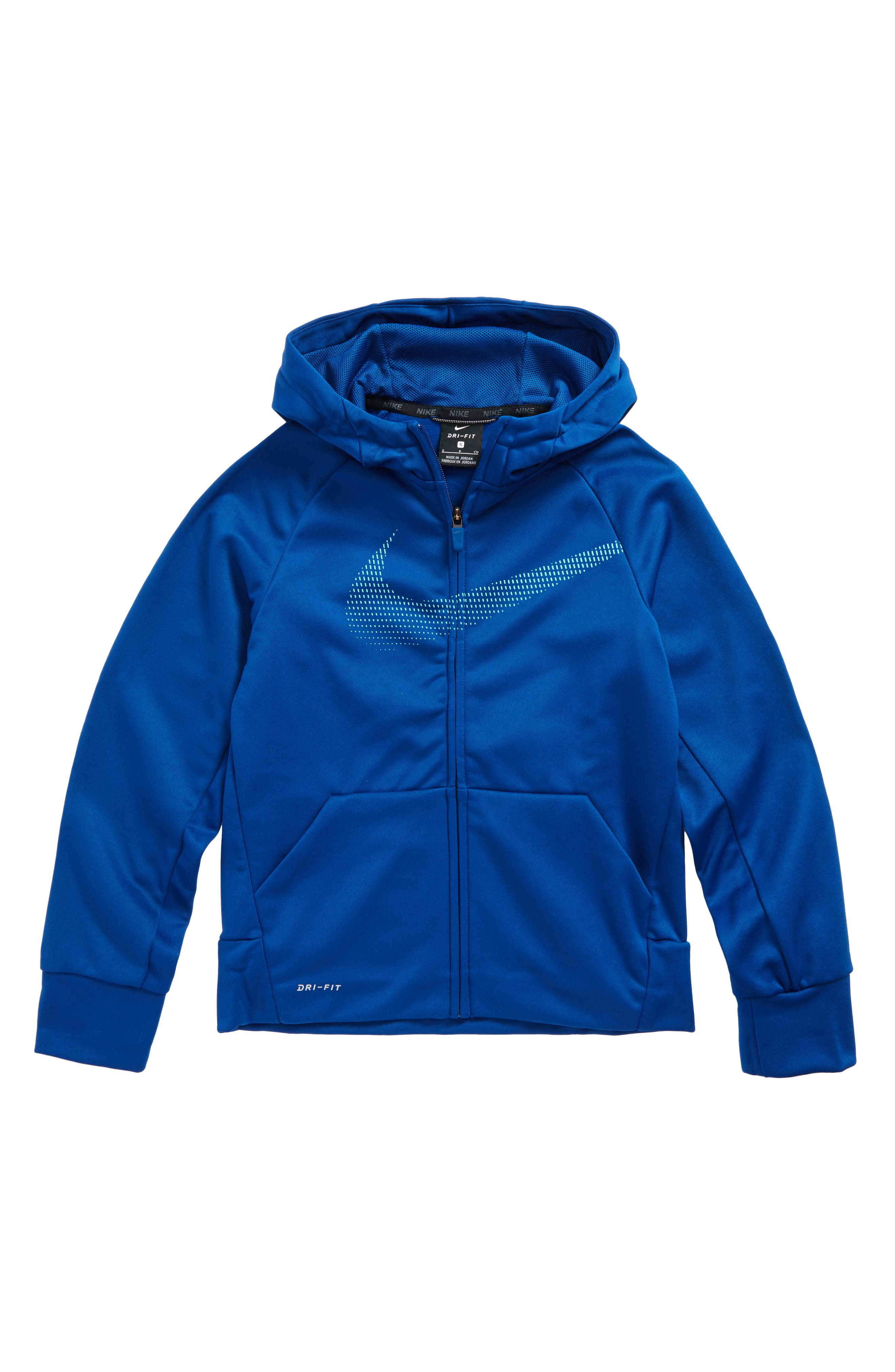 Alternate Image 4  - Nike Therma Dry Hoodie (Little Boys & Big Boys)