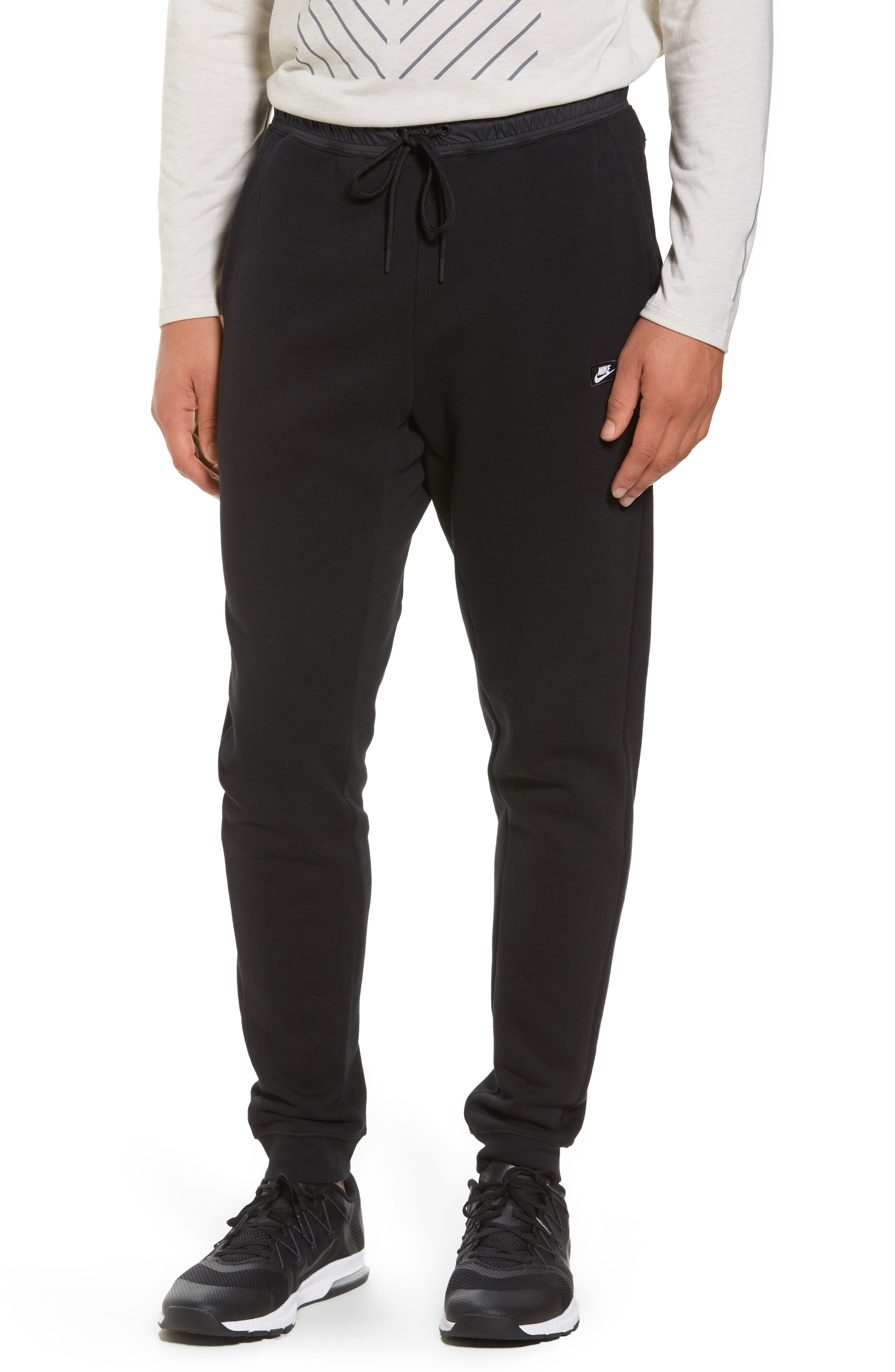 Tech Fleece Jogger Pants,                         Main,                         color, Black/ Black