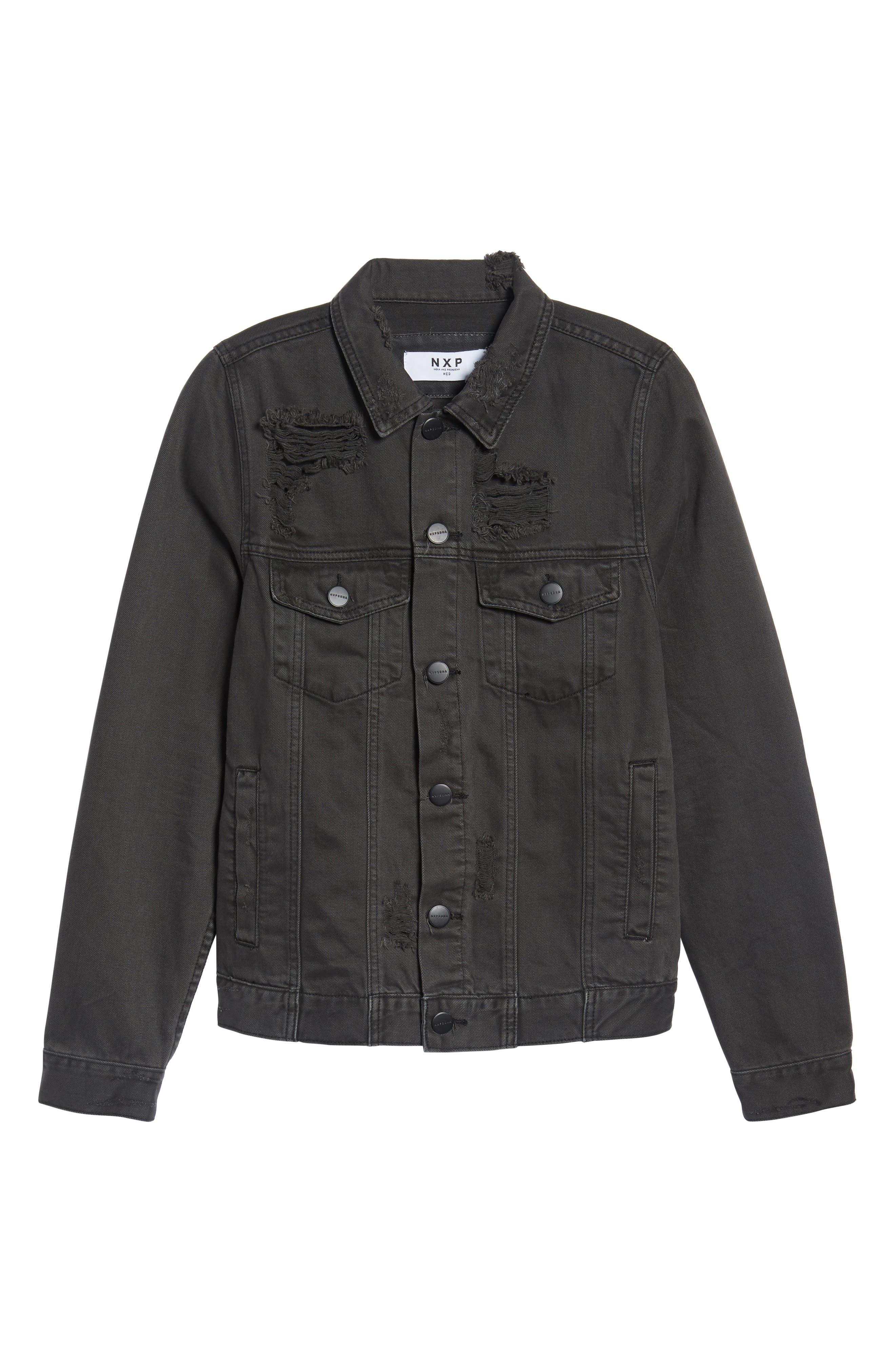 Alternate Image 6  - NXP Norge Denim Jacket