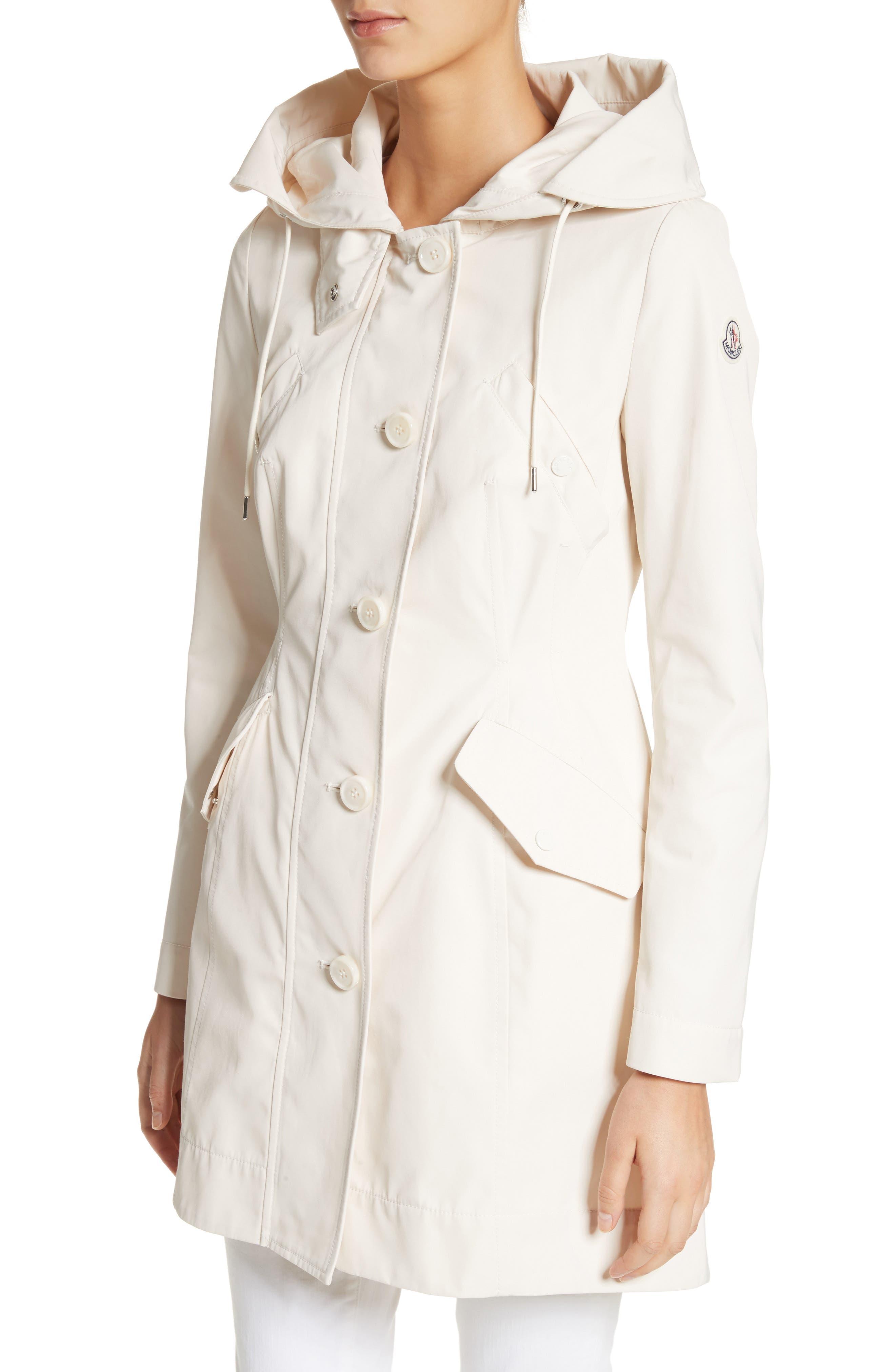 Alternate Image 4  - Moncler Audrey Water Resistant Hooded Raincoat
