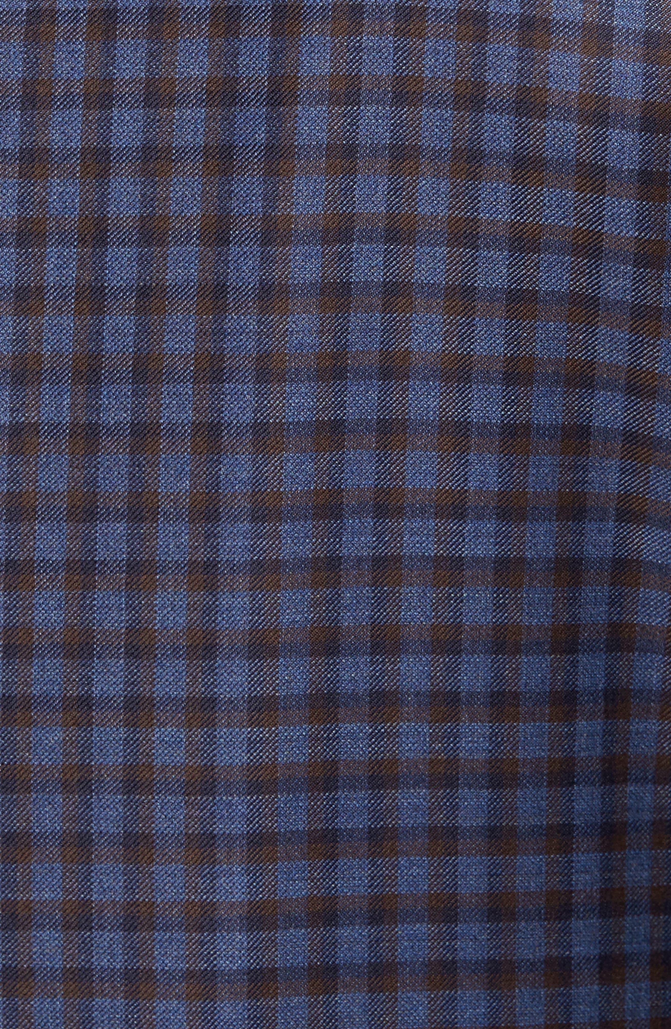 Alternate Image 5  - Peter Millar Classic Fit Check Wool Sport Coat