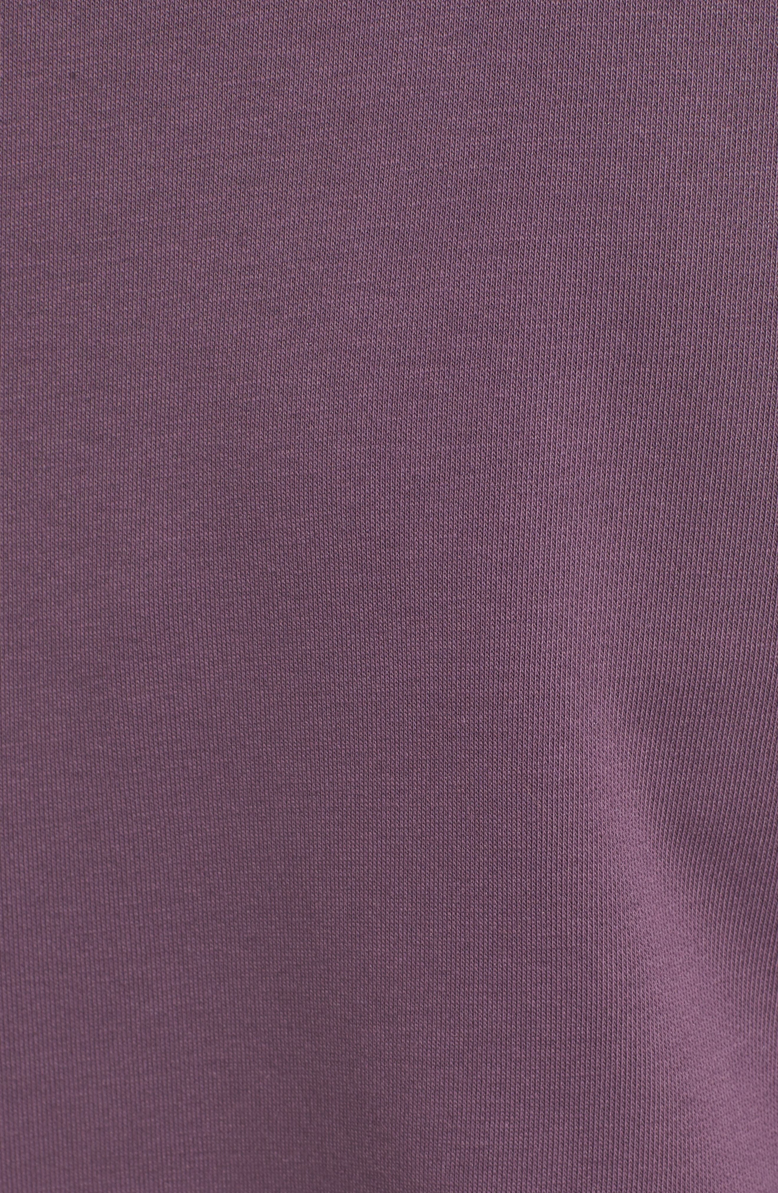 Alternate Image 5  - Chelsea28 Ruffle Sweatshirt