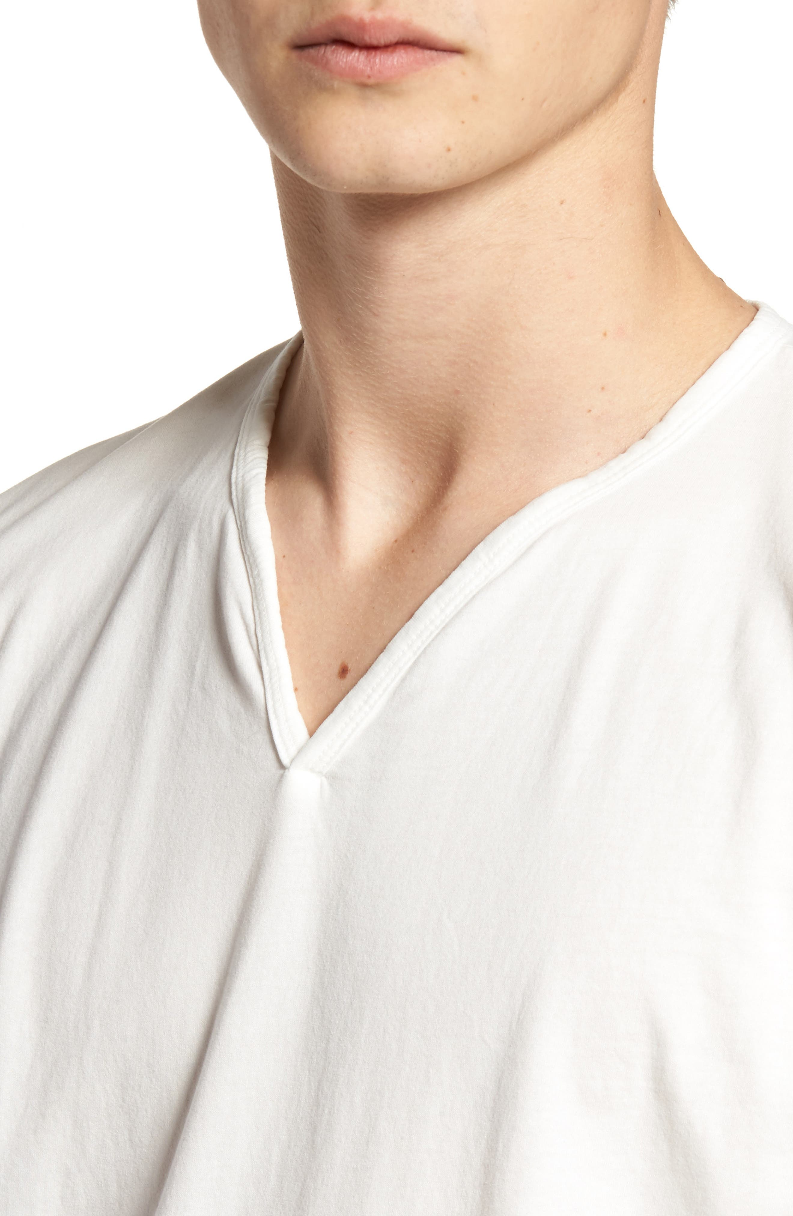 Alternate Image 4  - Vestige Notch Henley T-Shirt