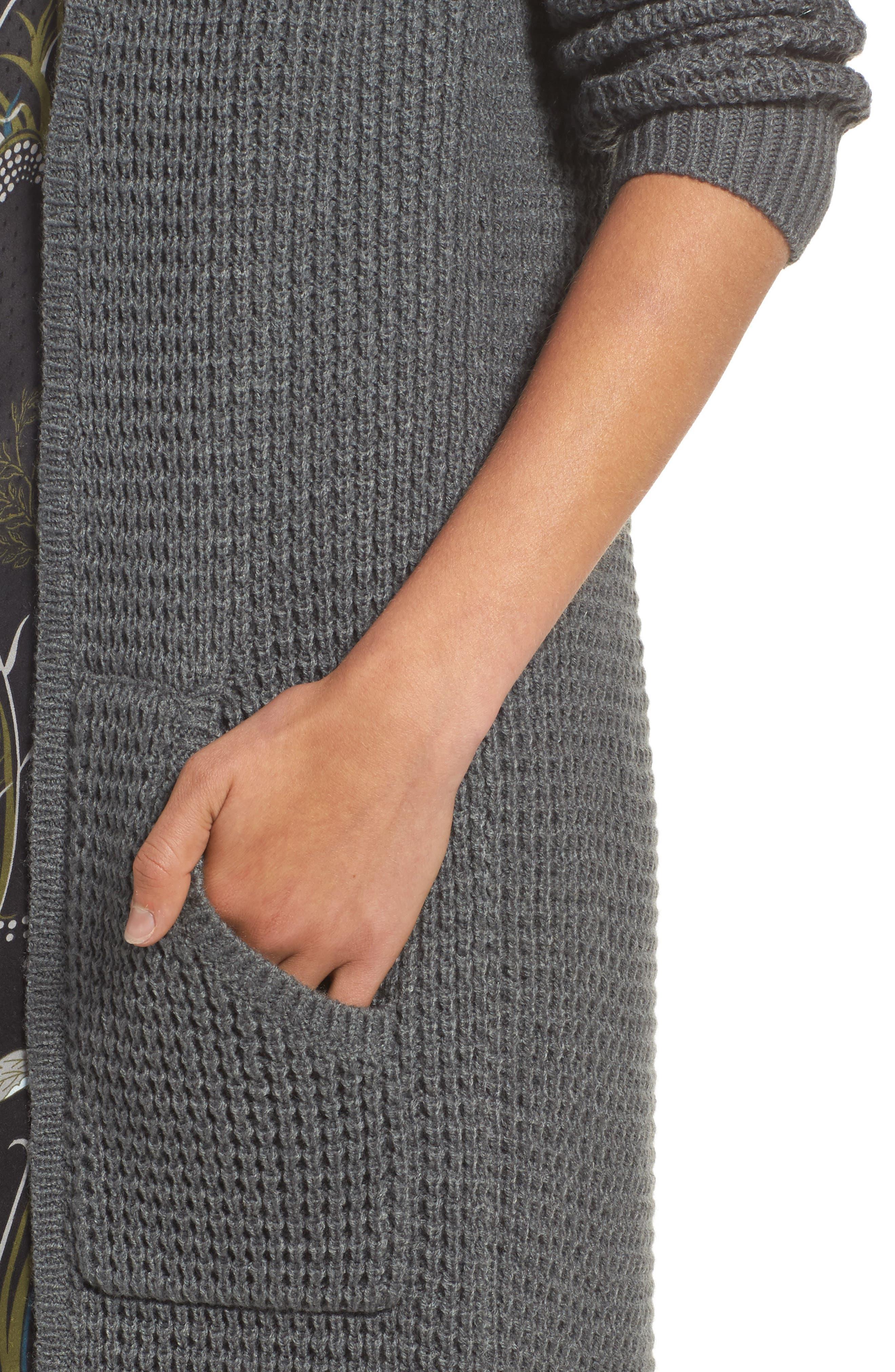 Alternate Image 5  - Chelsea28 Long Cardigan