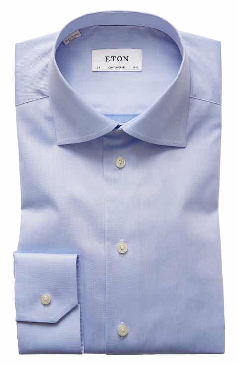 Eton dress shirts ties nordstrom eton contemporary fit twill dress shirt ccuart Images