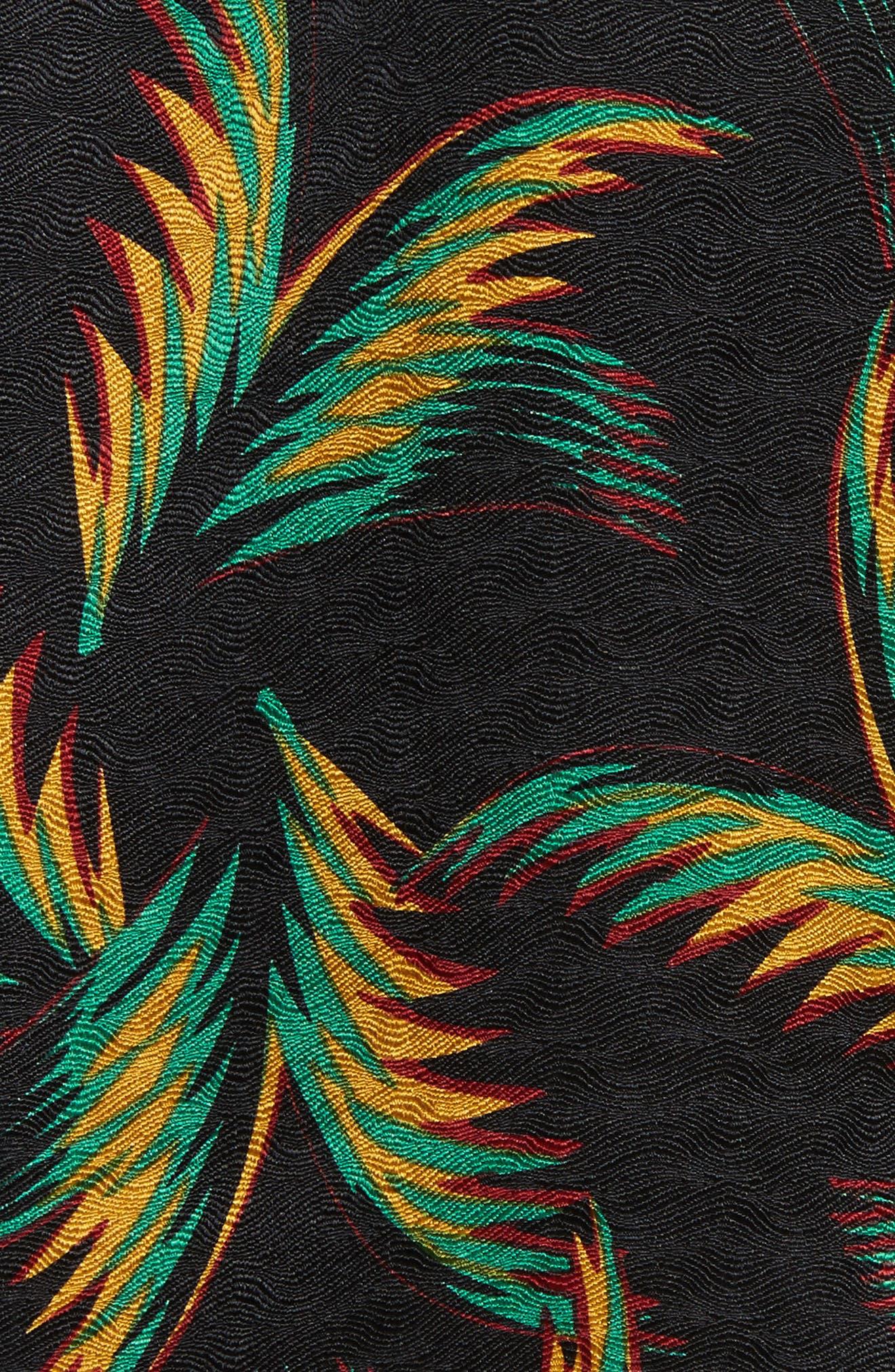 Alternate Image 5  - A.L.C. Gosford Print Silk Top