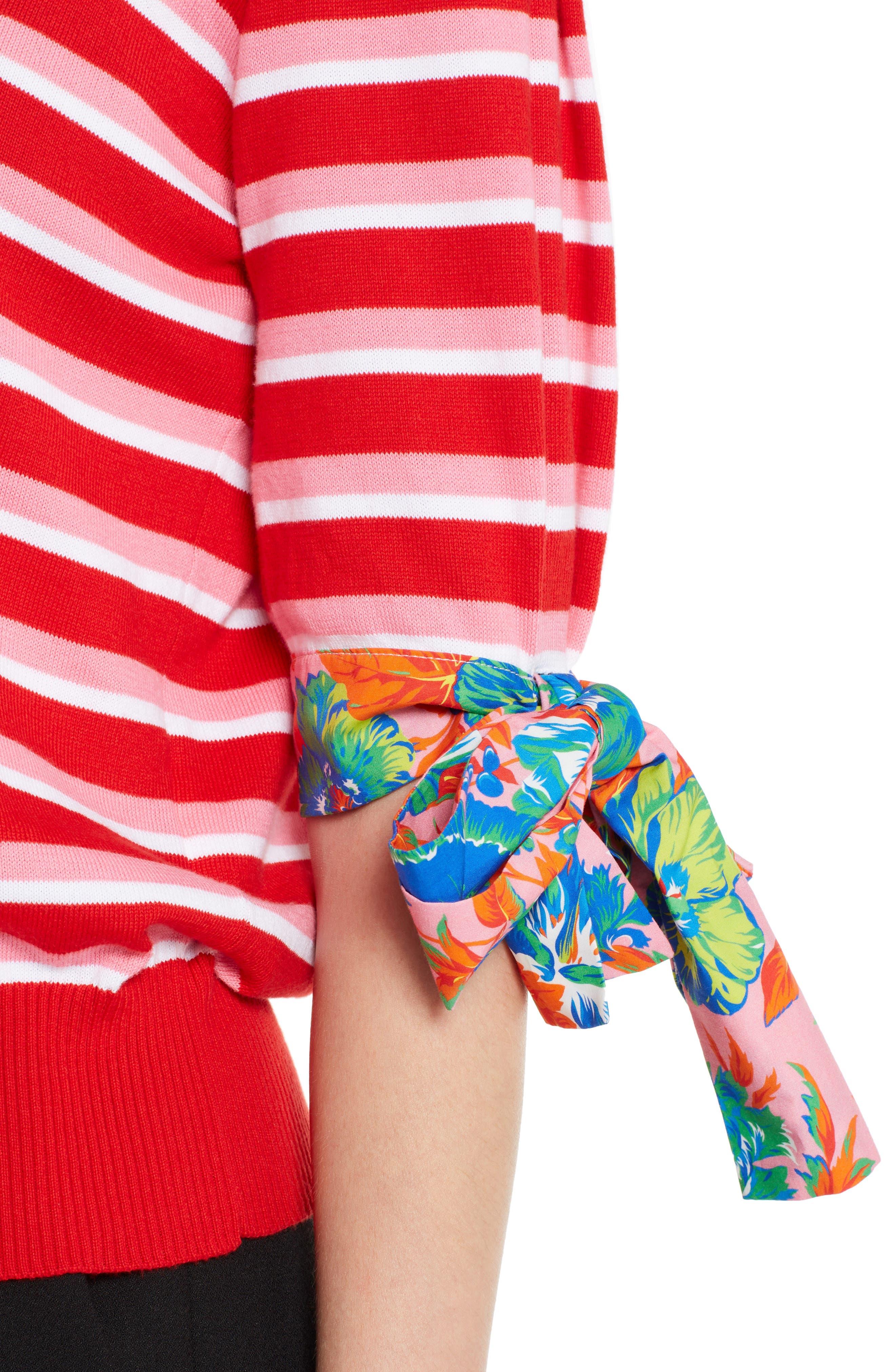 Alternate Image 4  - MSGM Tie Cuff Sweater