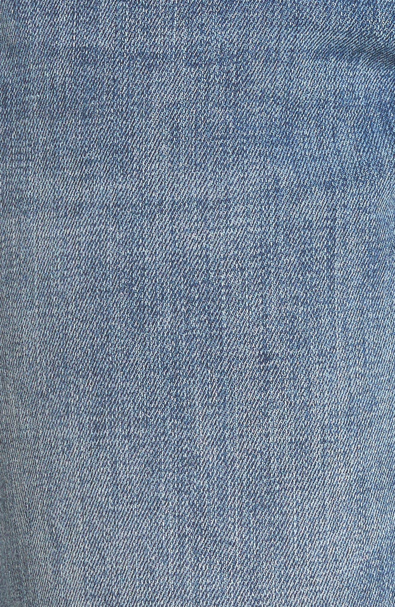 Davis Ankle Girlfriend Jeans,                             Alternate thumbnail 6, color,                             Alamo
