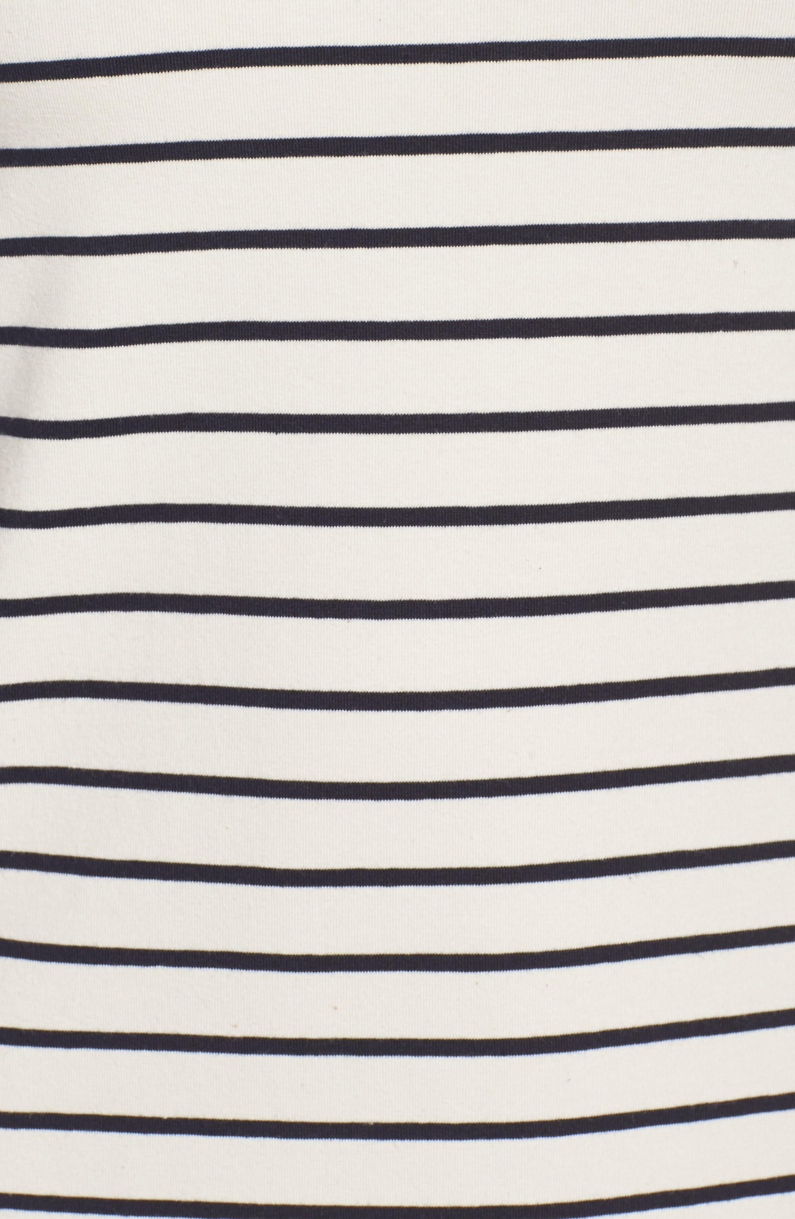 Tim Tim Coloblock Dress,                             Alternate thumbnail 5, color,                             Classic Cream/ Utility Blue