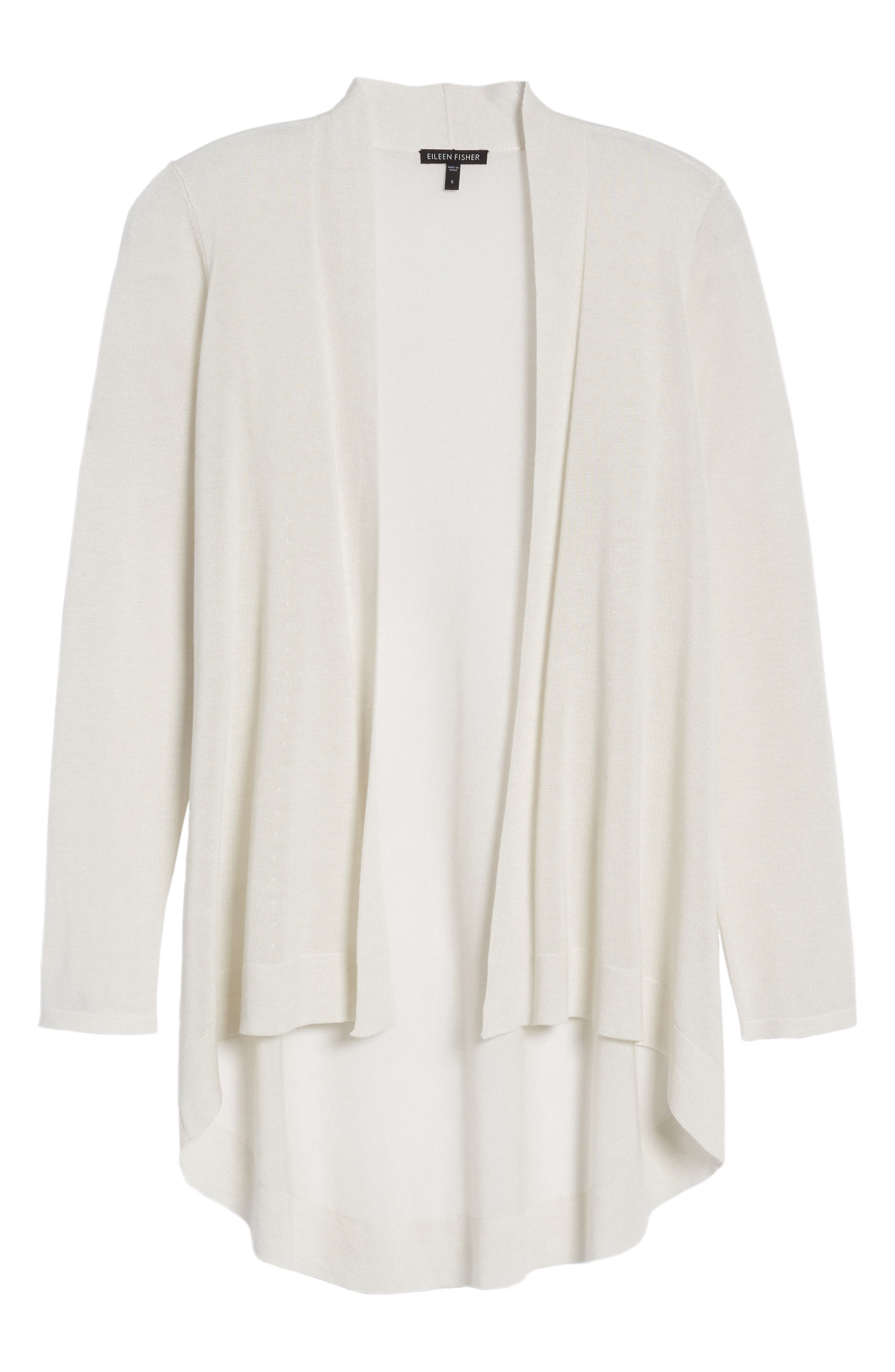 Alternate Image 6  - Eileen Fisher Tencel® & Merino Wool Shaped Cardigan