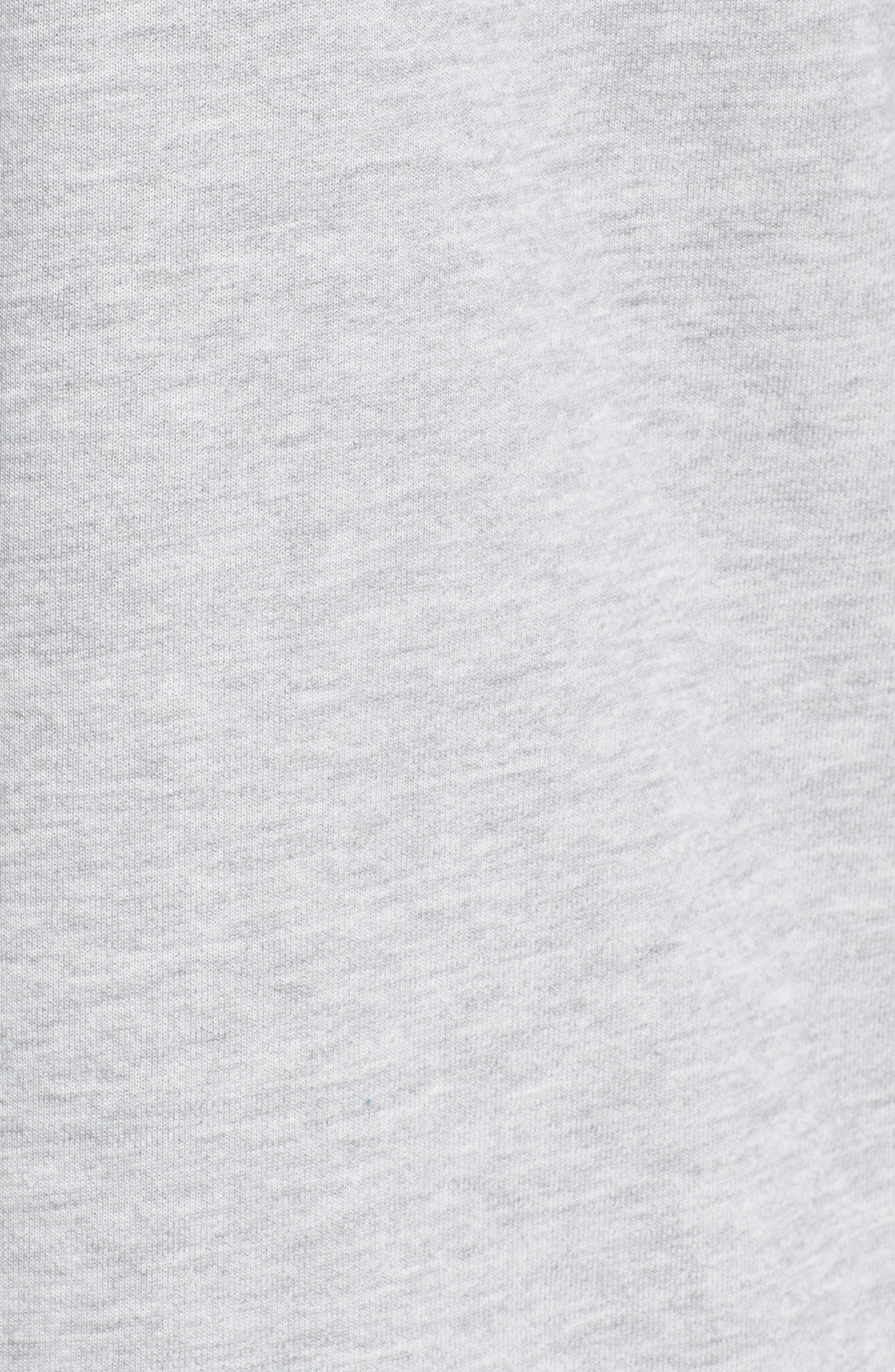 Alternate Image 5  - BP. Drop Waist Sweatshirt Dress