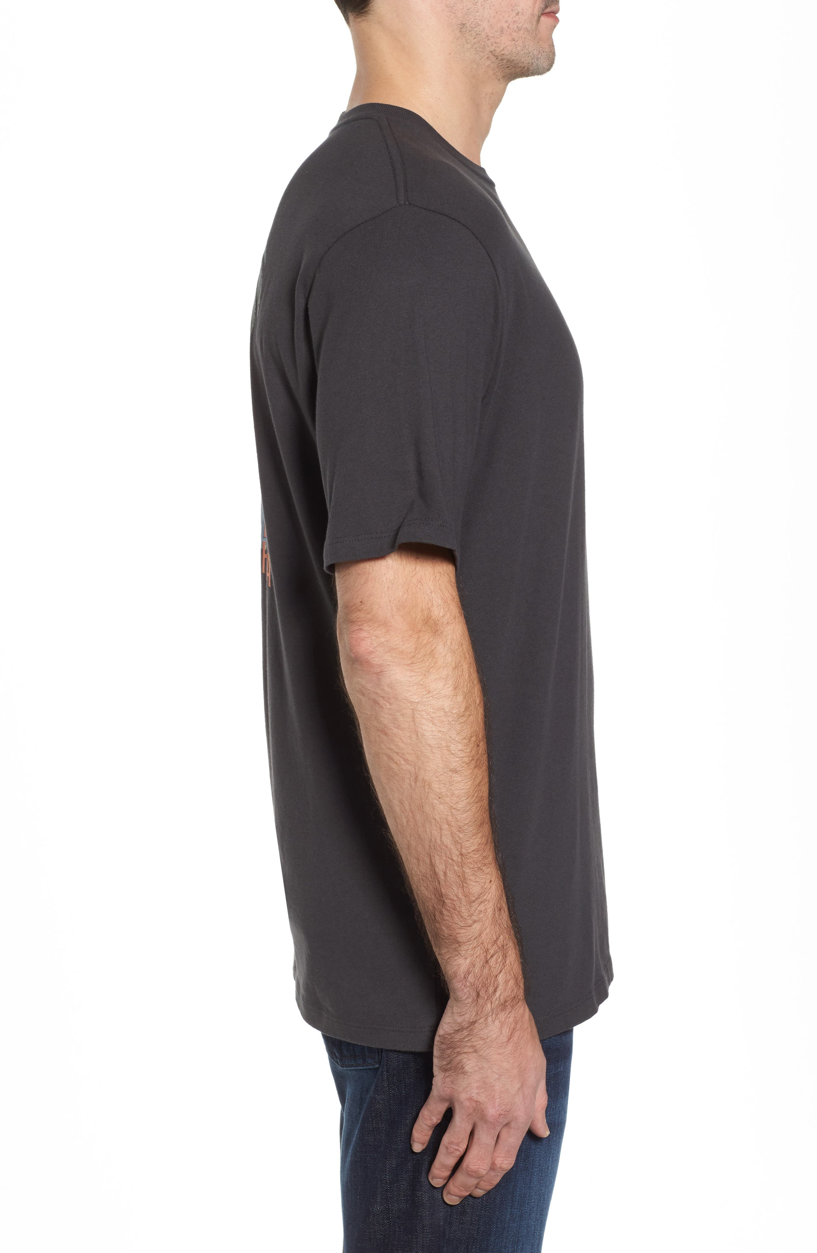 Latest Posts T-Shirt,                             Alternate thumbnail 3, color,                             Coal
