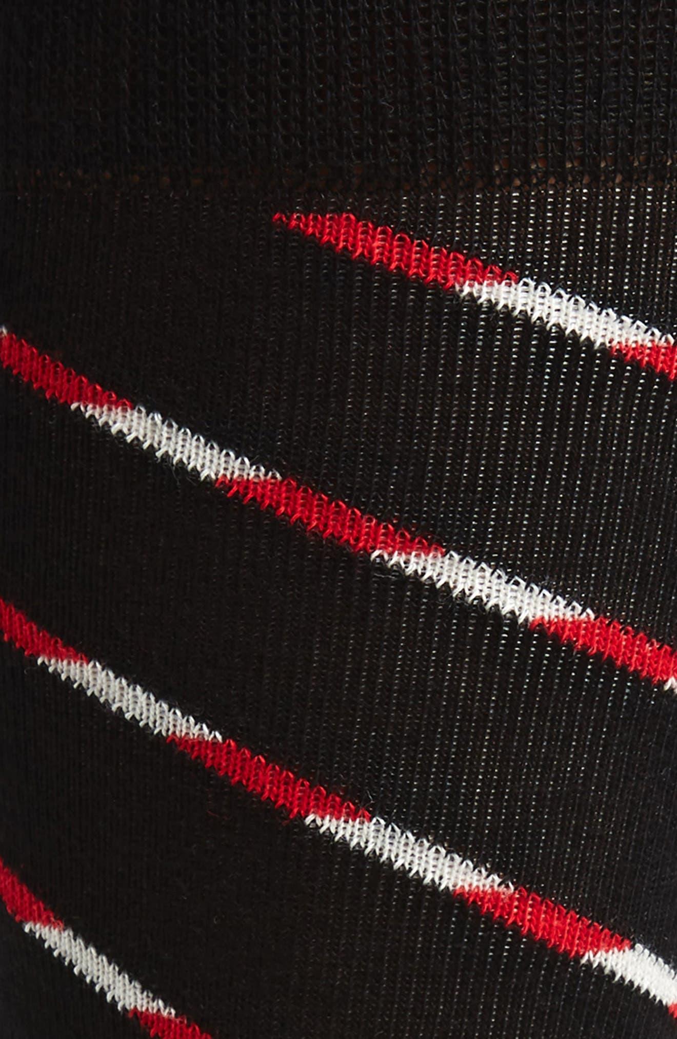 Alternate Image 2  - Happy Socks Candy Cane Stripe Socks (3 for $30)