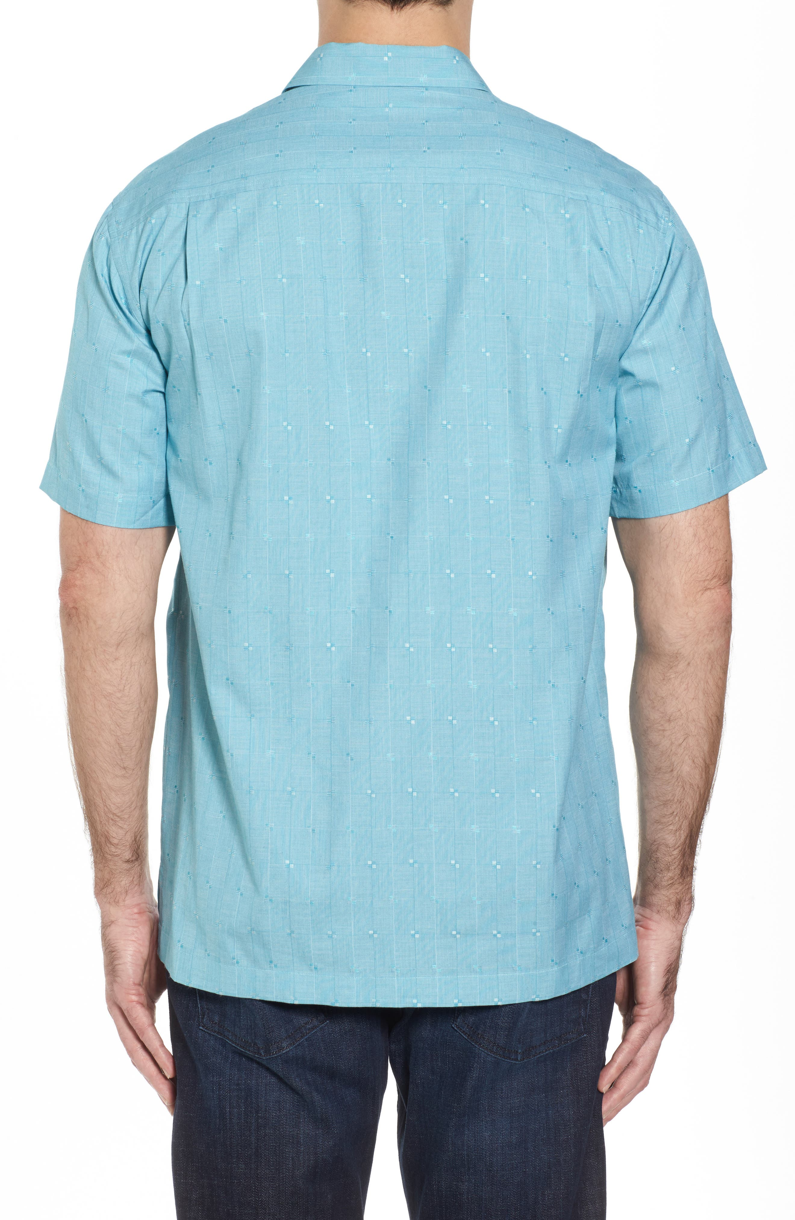 Alternate Image 2  - Tommy Bahama Cypress Sands Camp Shirt
