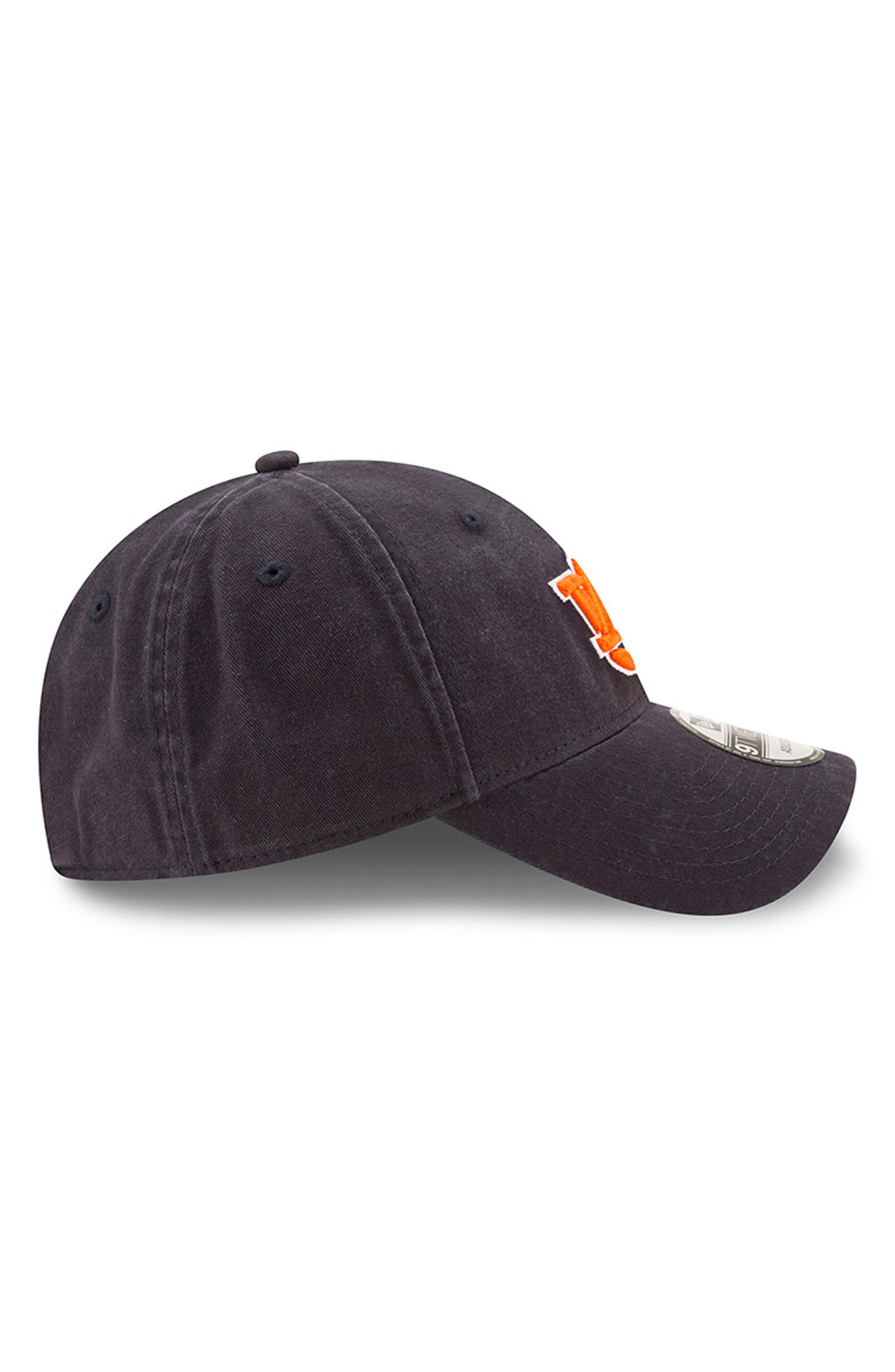 New Era Collegiate Core Classic - Auburn Tigers Baseball Cap,                             Alternate thumbnail 3, color,                             Auburn Tigers