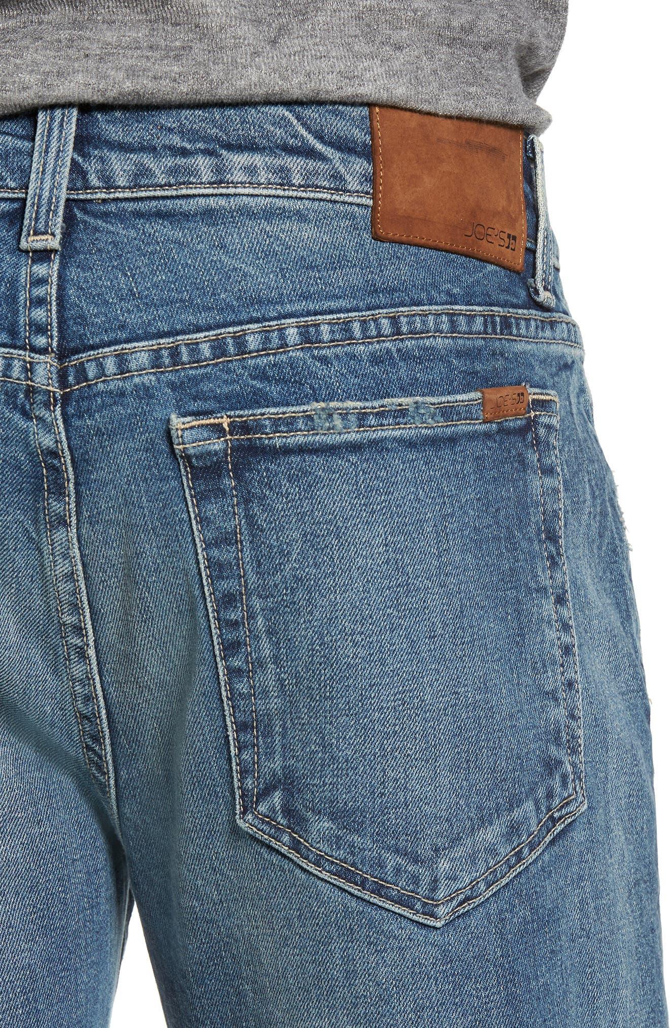 Slim Fit Jeans,                             Alternate thumbnail 4, color,                             Olson