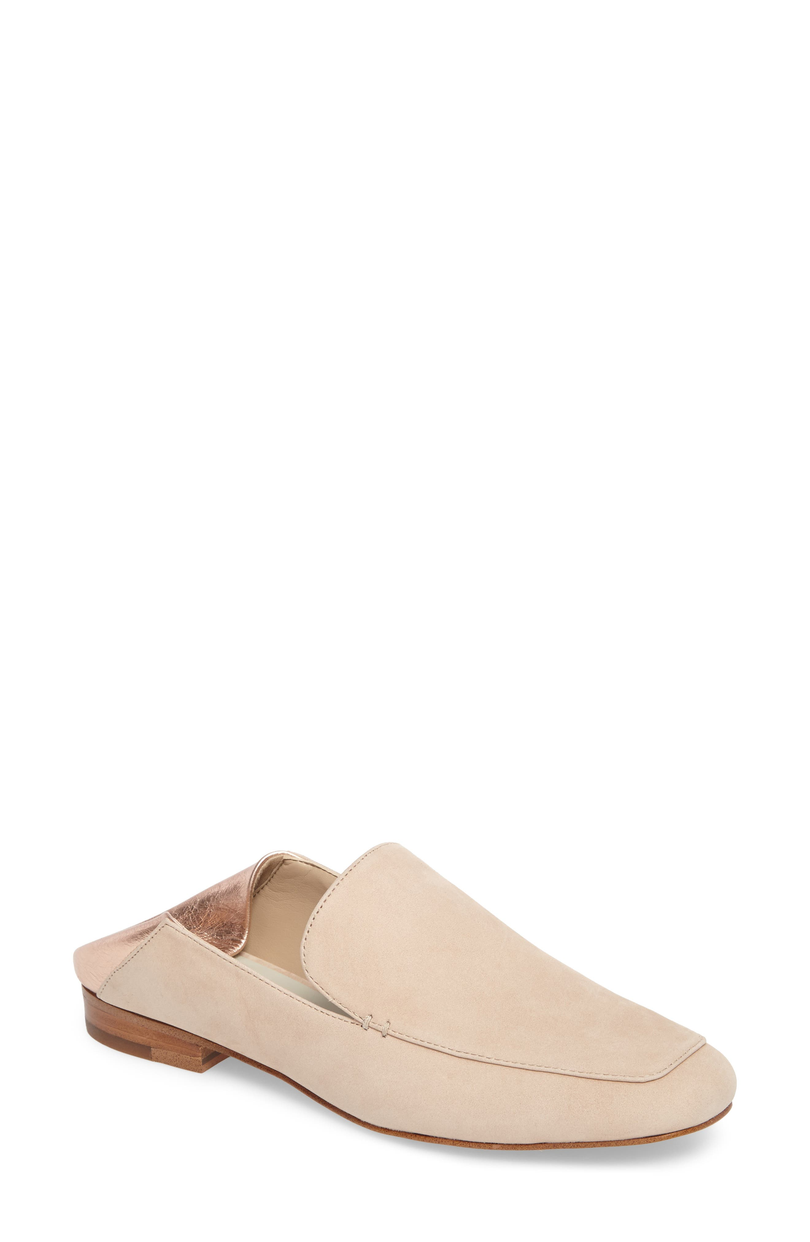 Faun Drop Heel Loafer,                         Main,                         color, Cipria Leather
