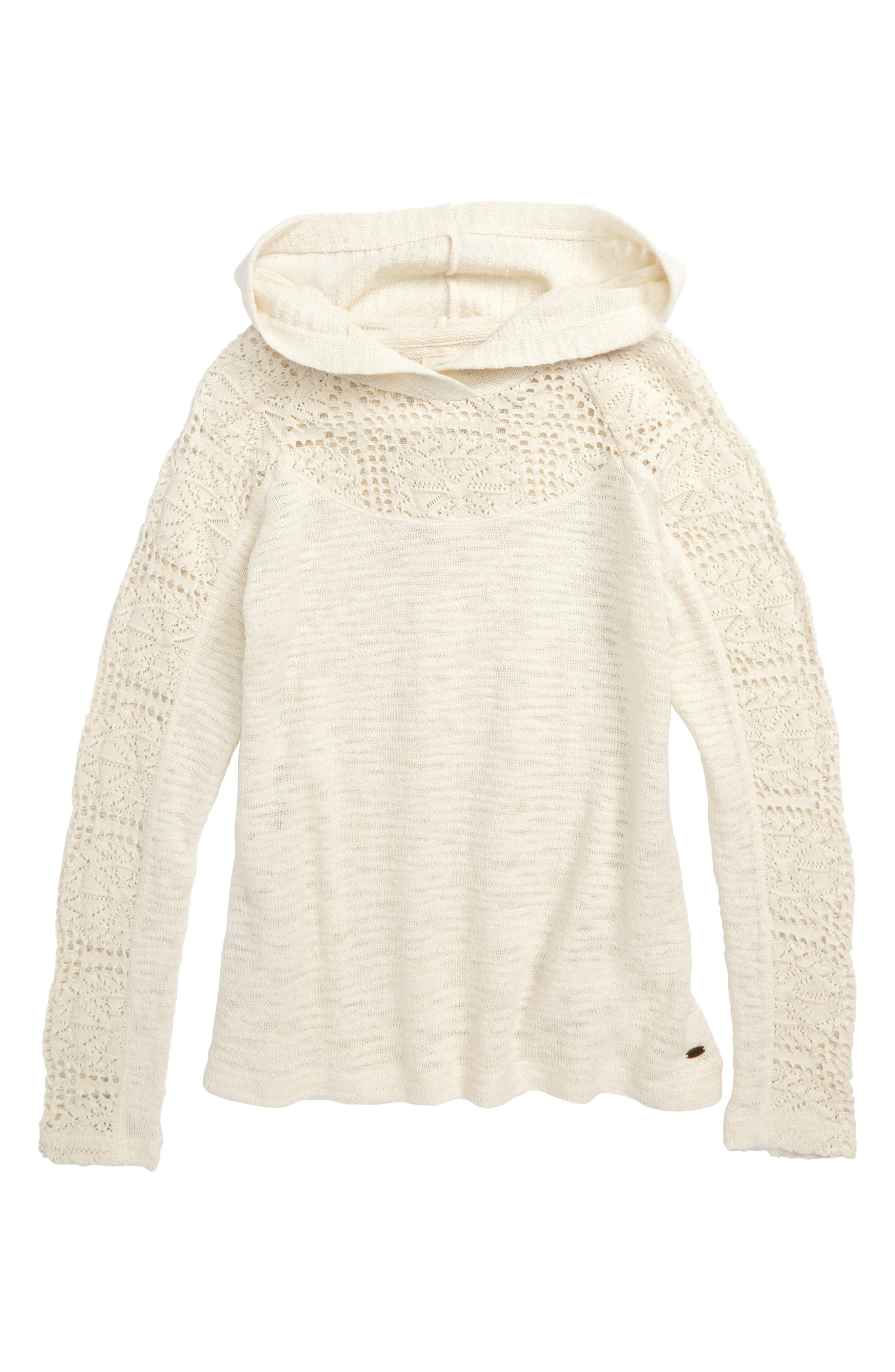Amore Hooded Sweater,                             Main thumbnail 1, color,                             Naked - Wwh