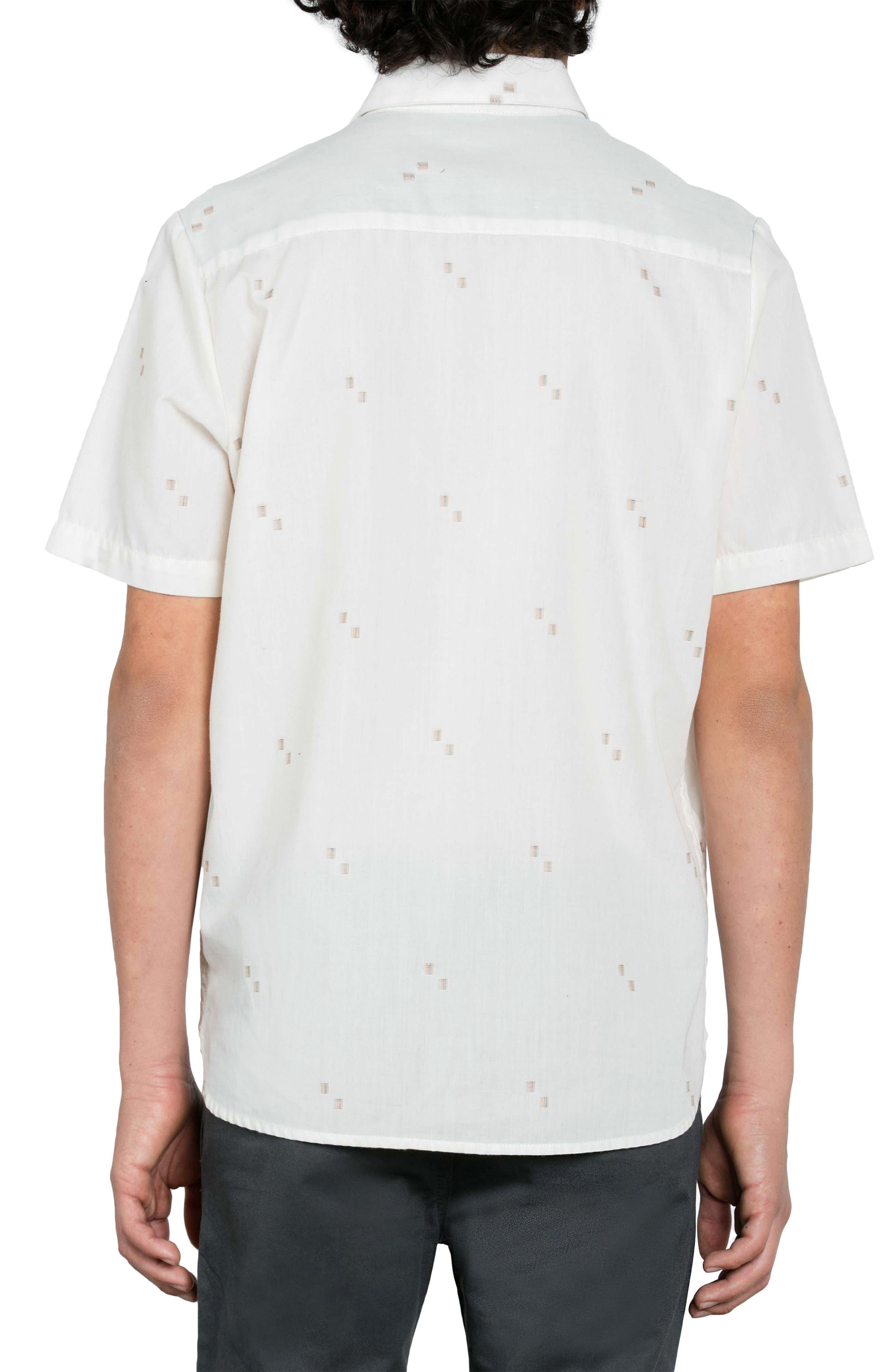 Alternate Image 2  - Volcom Floyd Geo Pattern Woven Shirt (Big Boys)