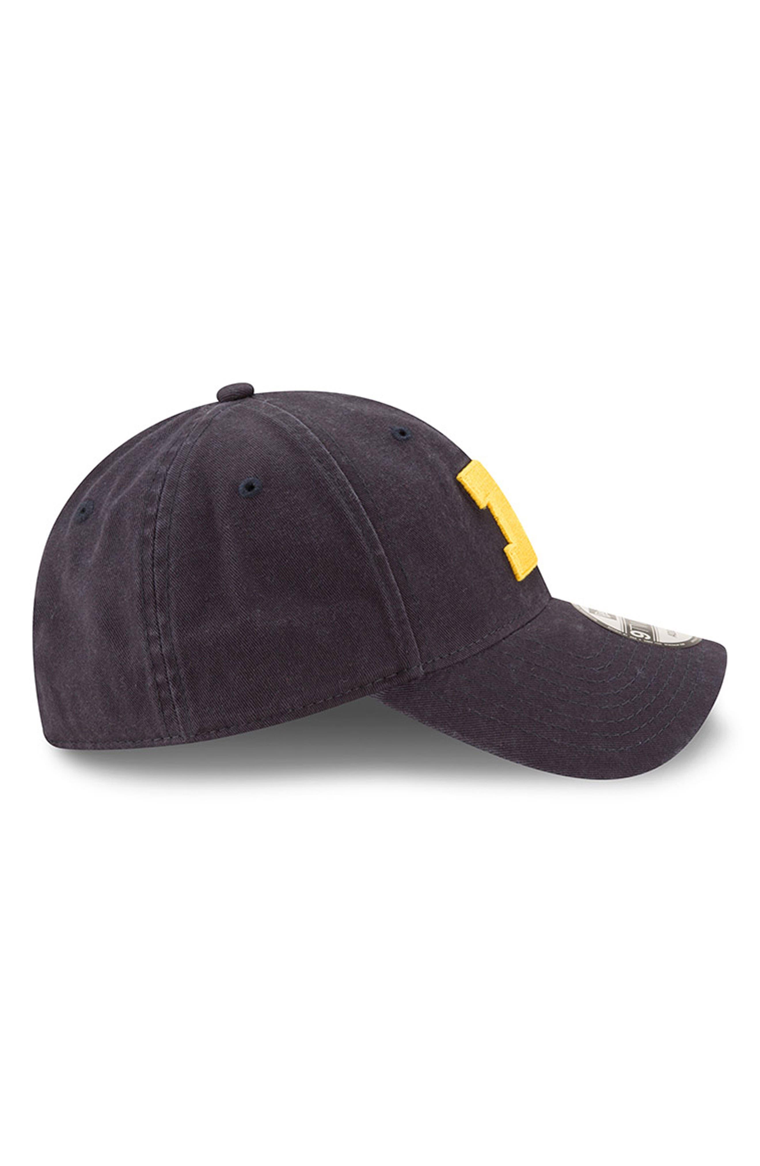 New Era Collegiate Core Classic - Michigan Wolverines Baseball Cap,                             Alternate thumbnail 4, color,                             Michigan Wolverines