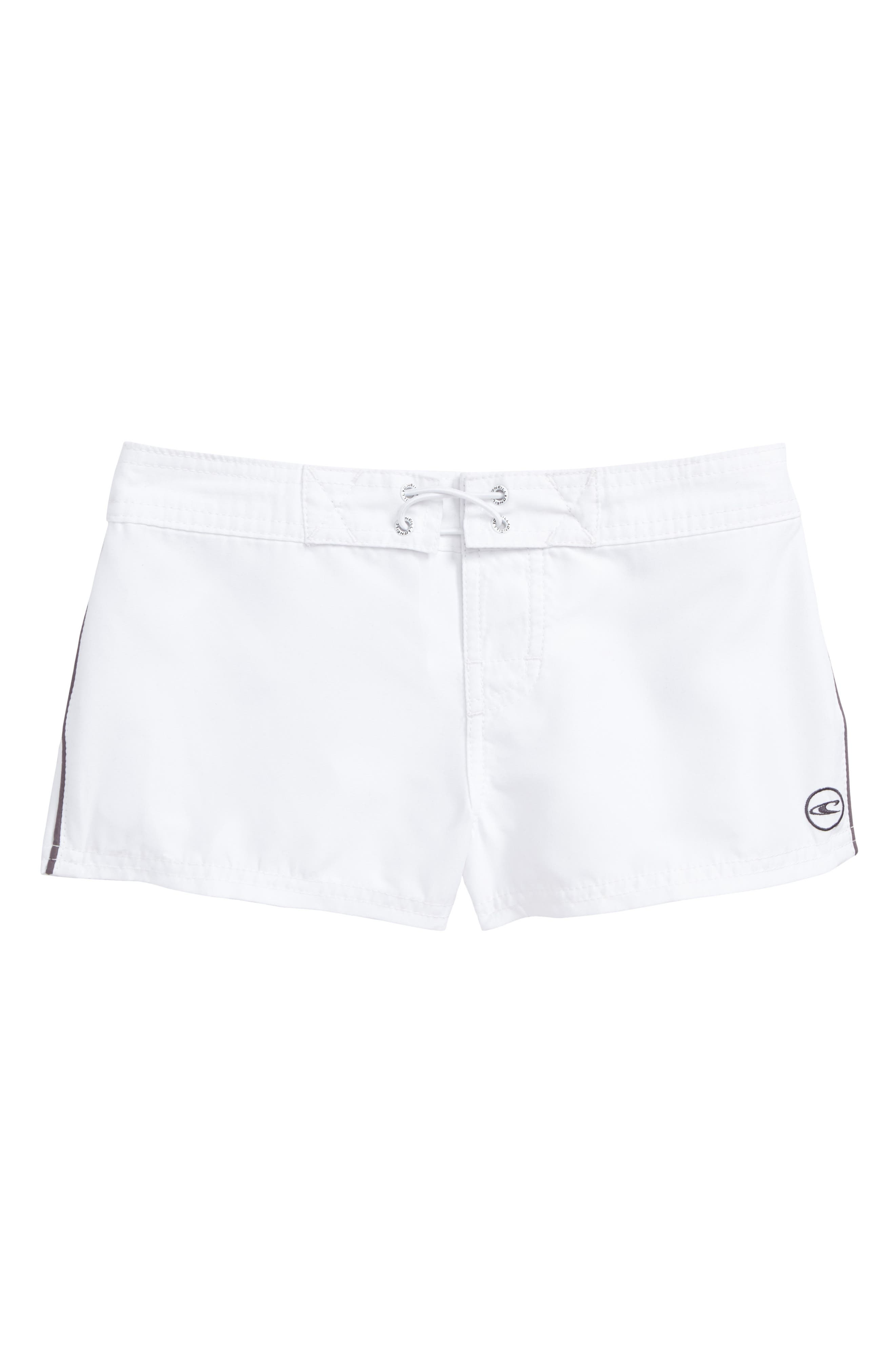 Salt Water Board Shorts,                         Main,                         color, White - Wht