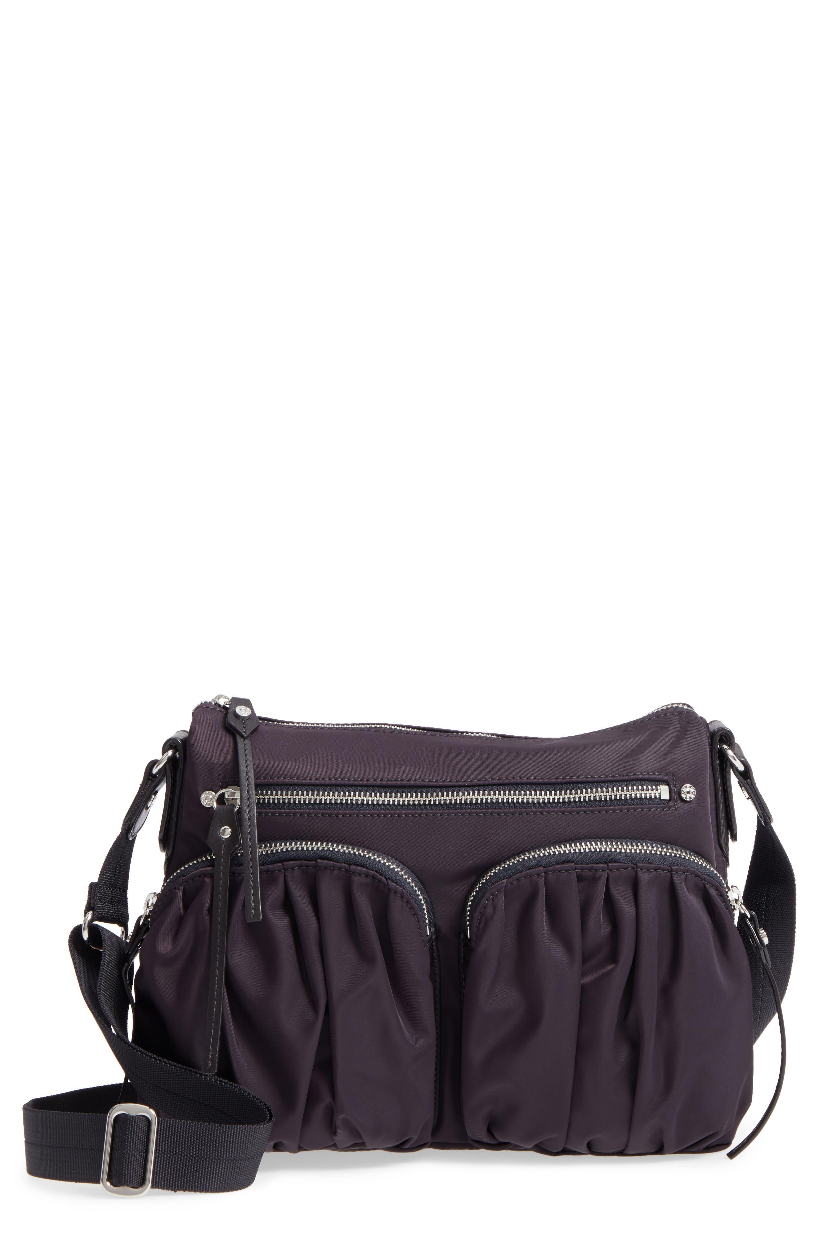 Alternate Image 1 Selected - MZ Wallace 'Paige' Bedford Nylon Crossbody Bag