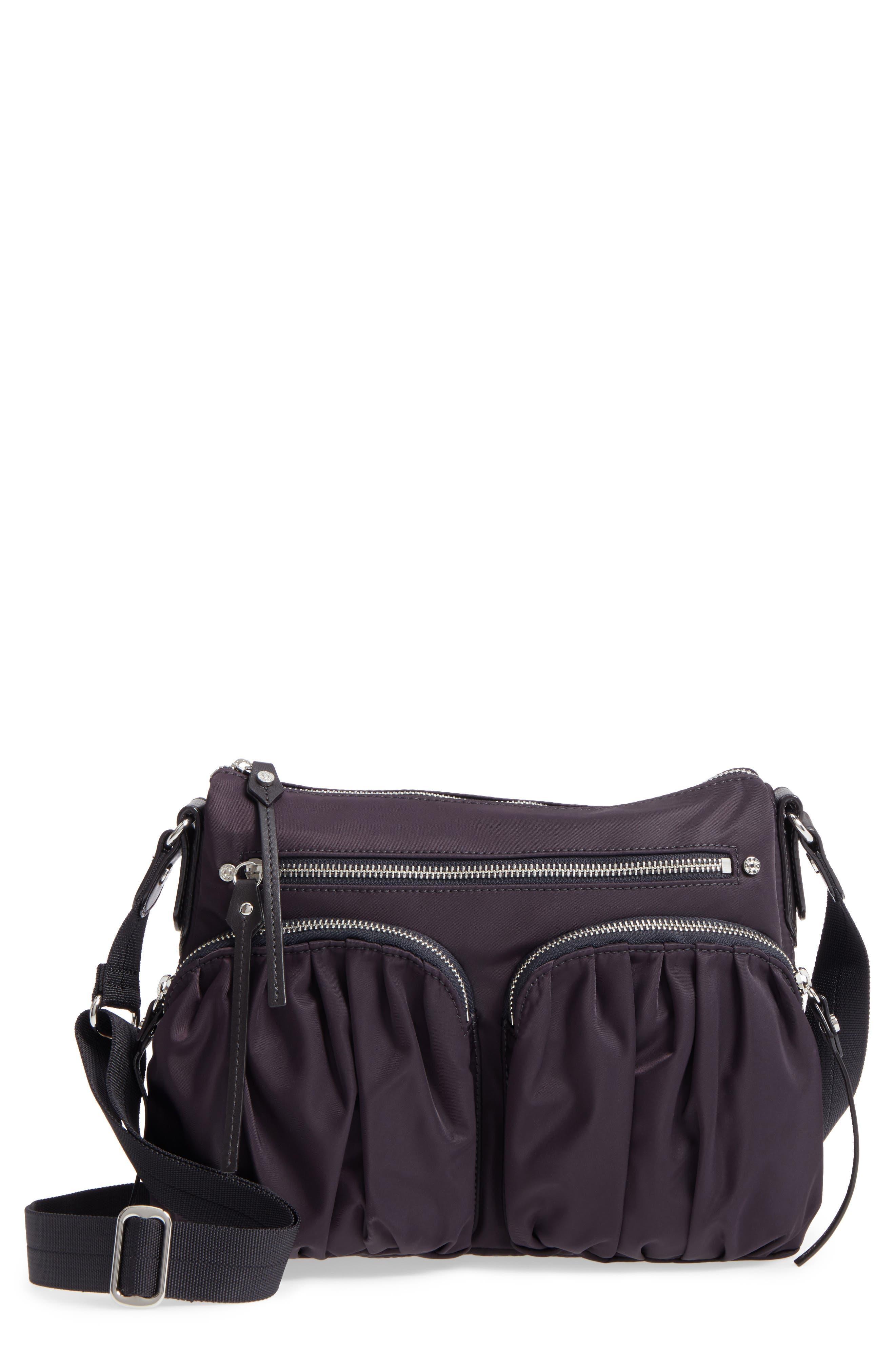 Main Image - MZ Wallace 'Paige' Bedford Nylon Crossbody Bag