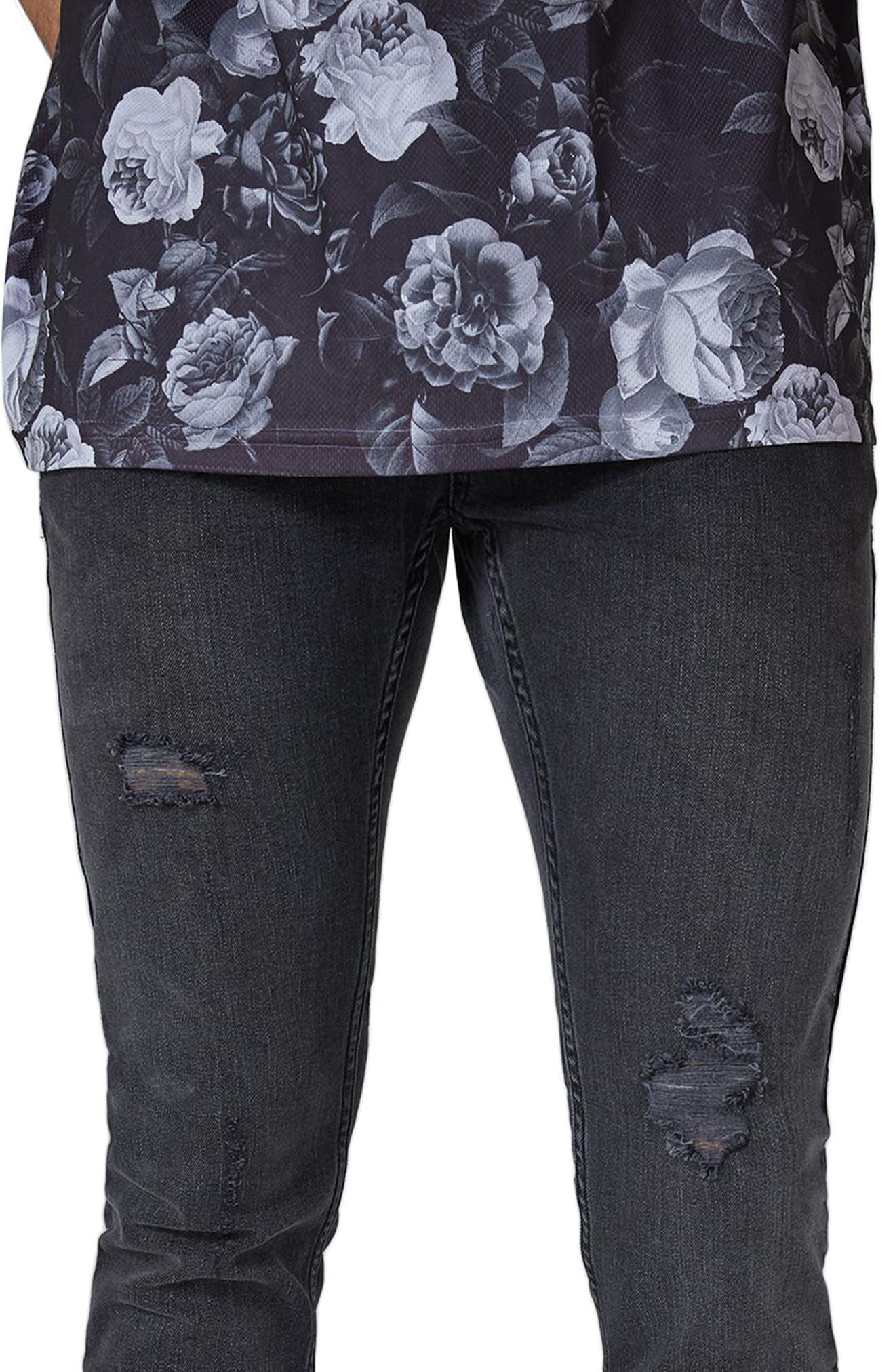 Alternate Image 3  - Topman Frankie Super Skinny Jeans