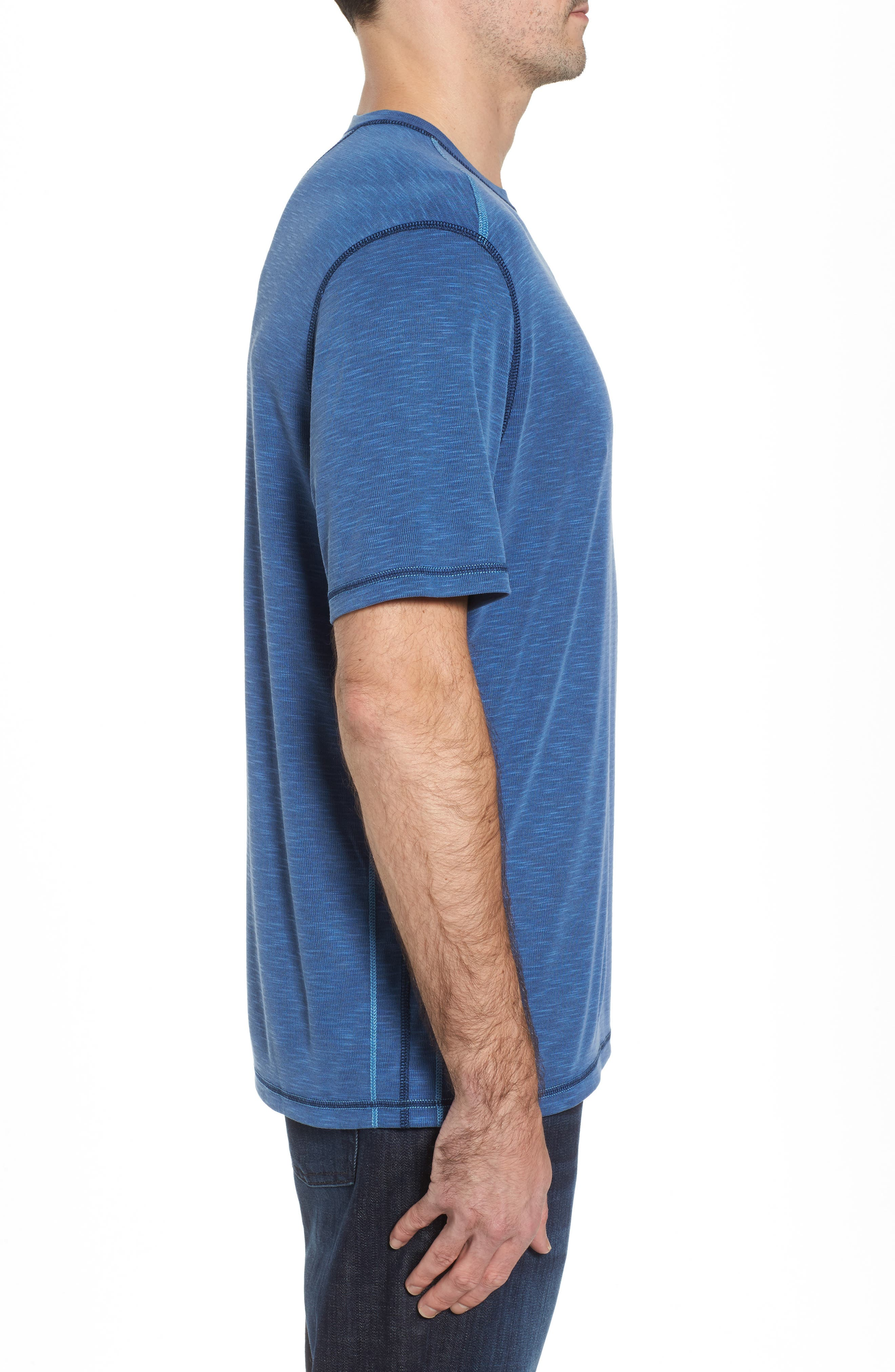 Flip Tide T-Shirt,                             Alternate thumbnail 4, color,                             Galaxy Blue