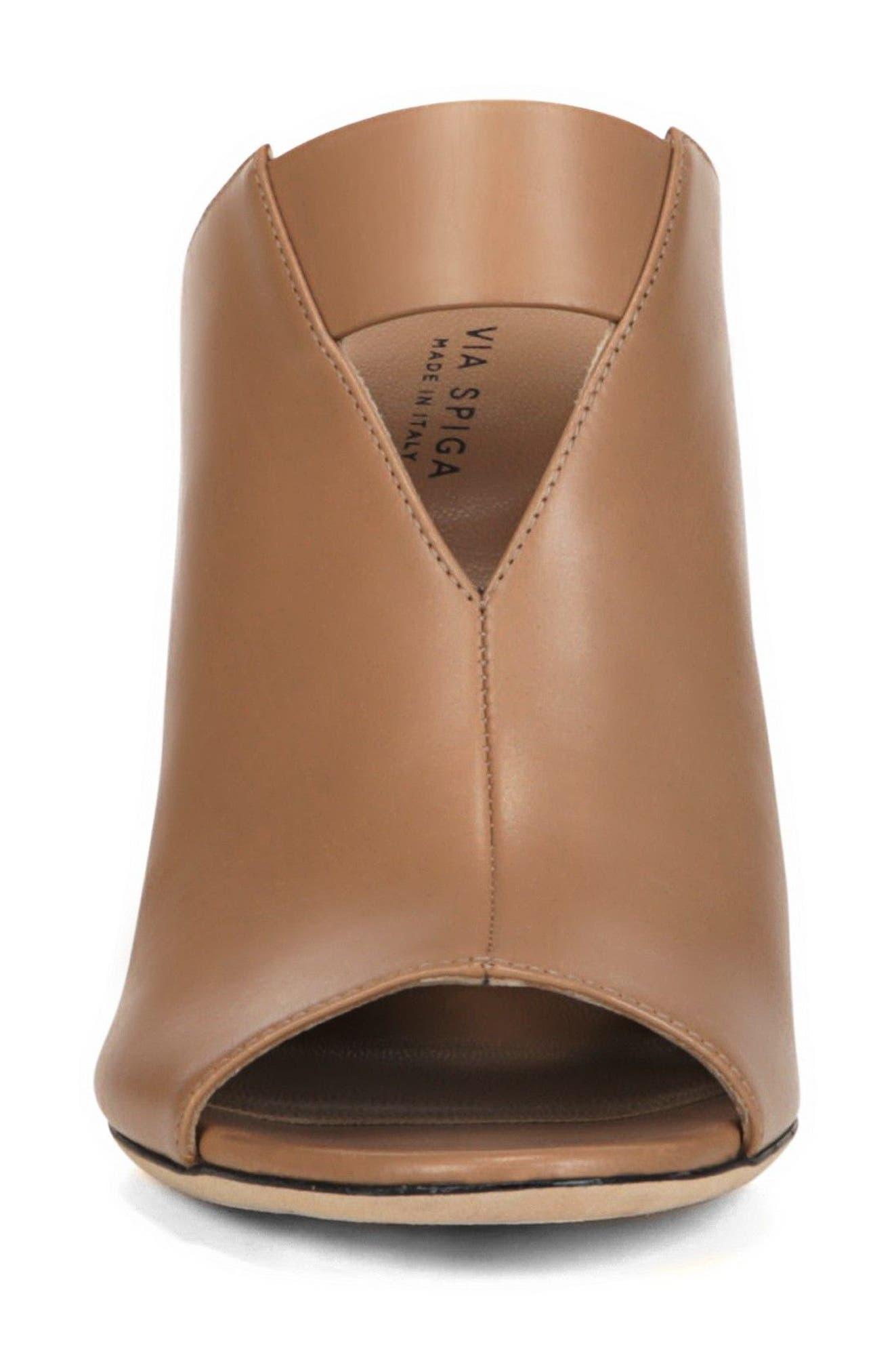 Mira Sandal,                             Alternate thumbnail 4, color,                             Desert Leather