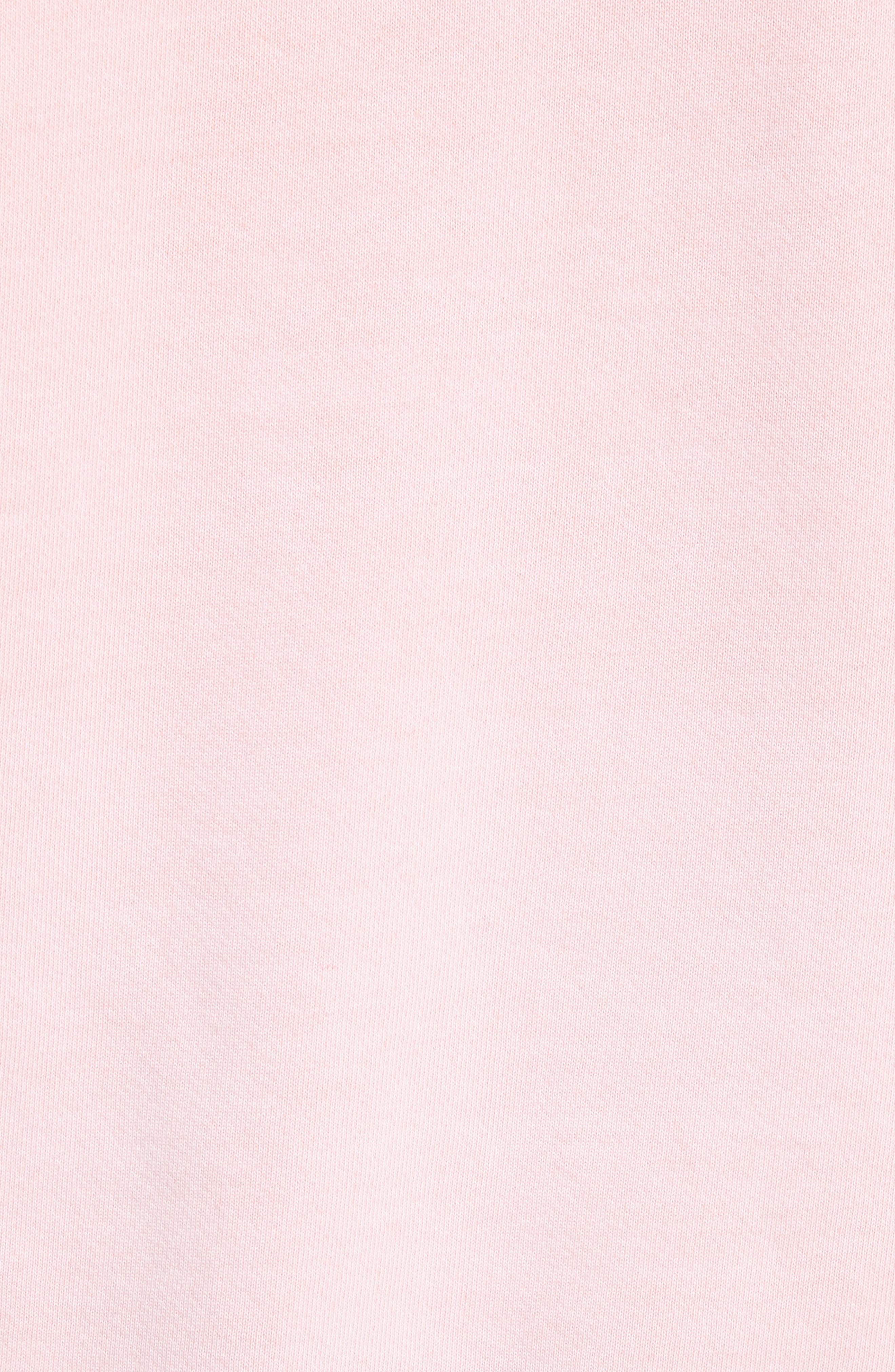 Oversize Hoodie,                             Alternate thumbnail 5, color,                             Faded Light Pink