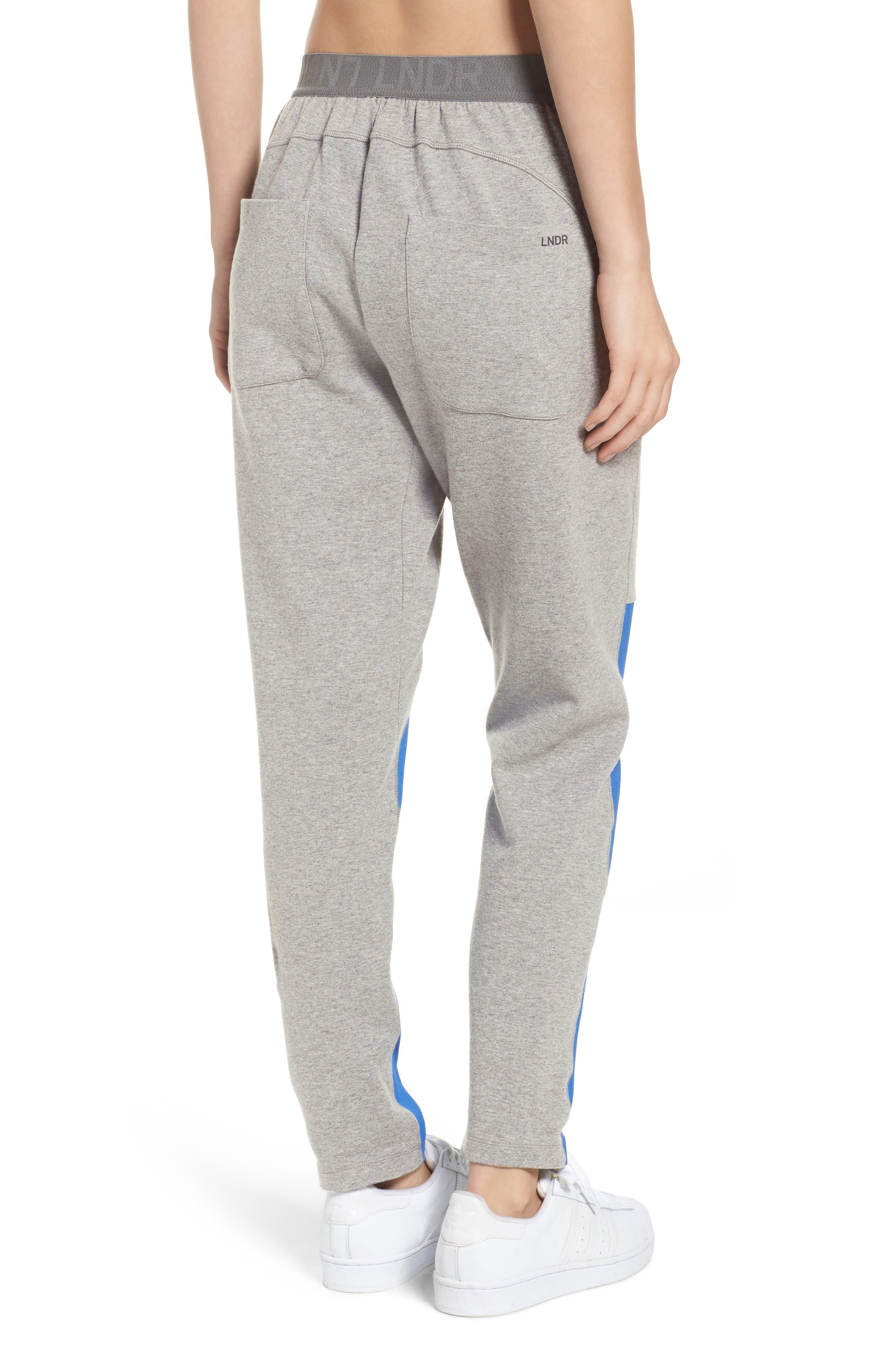 Blixen Track Pants,                             Alternate thumbnail 2, color,                             Grey Marl