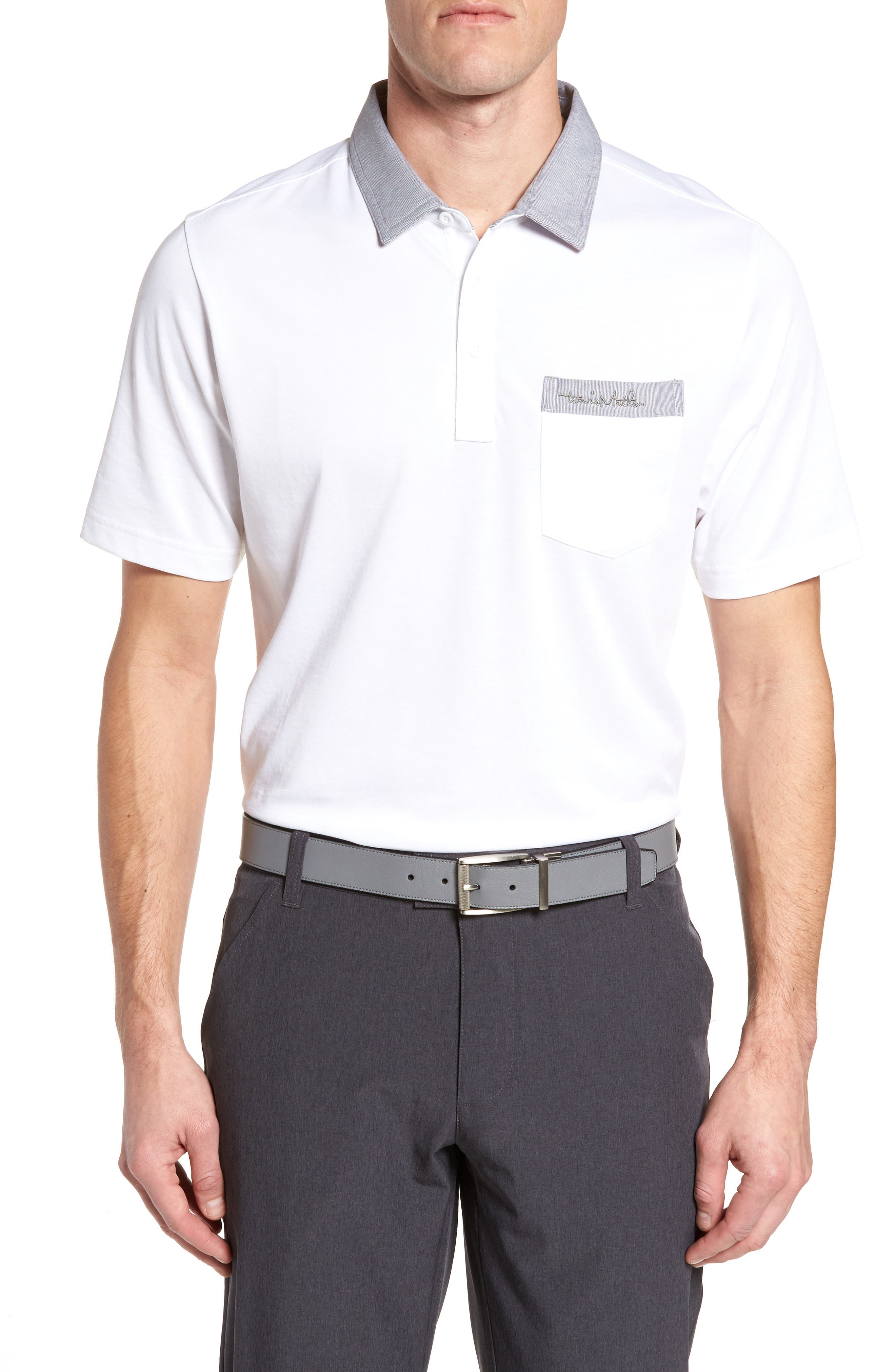 Haby Polo,                         Main,                         color, White