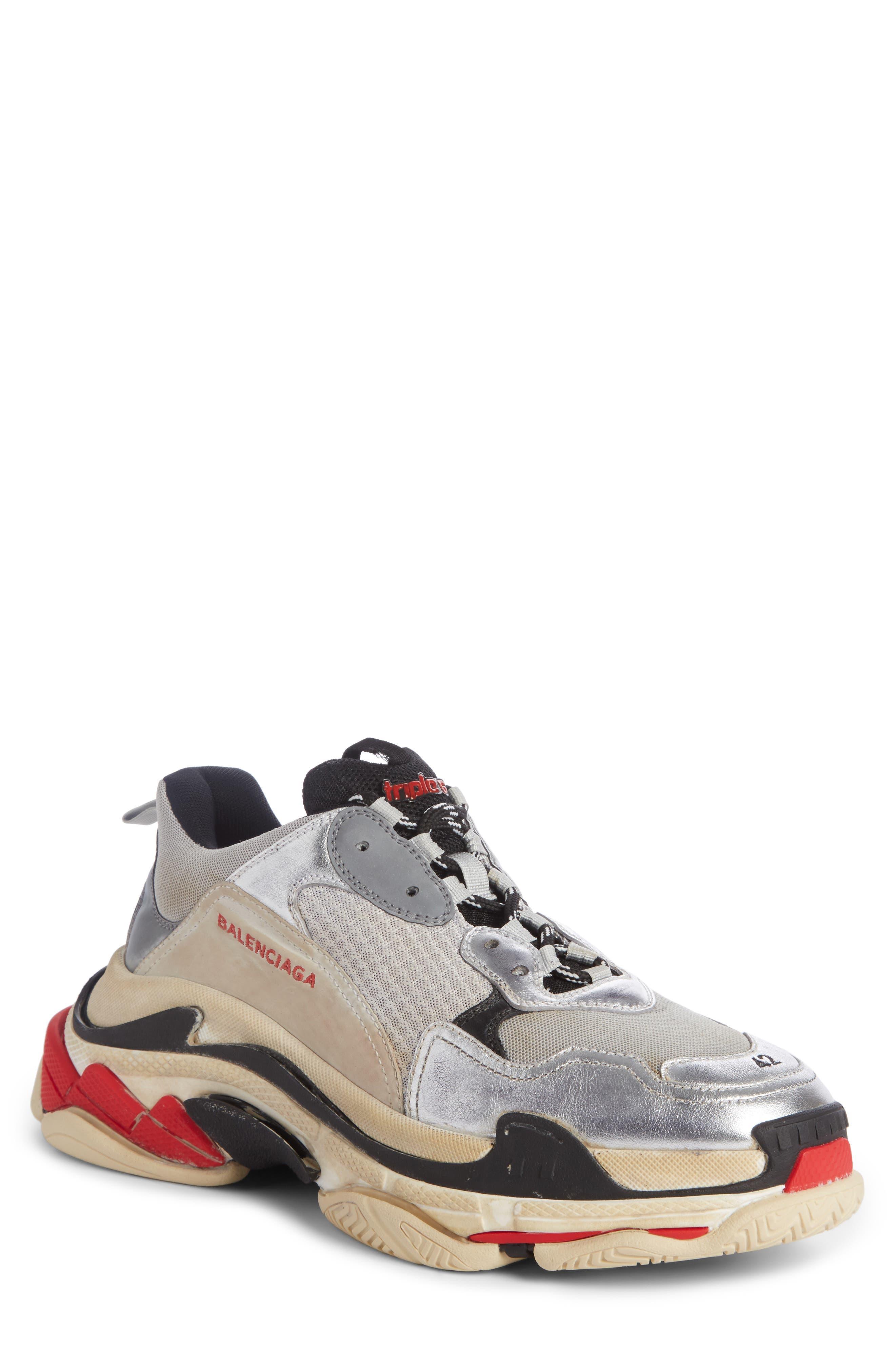 Alternate Image 1 Selected - Balenciaga Triple S Retro Sneaker (Men)