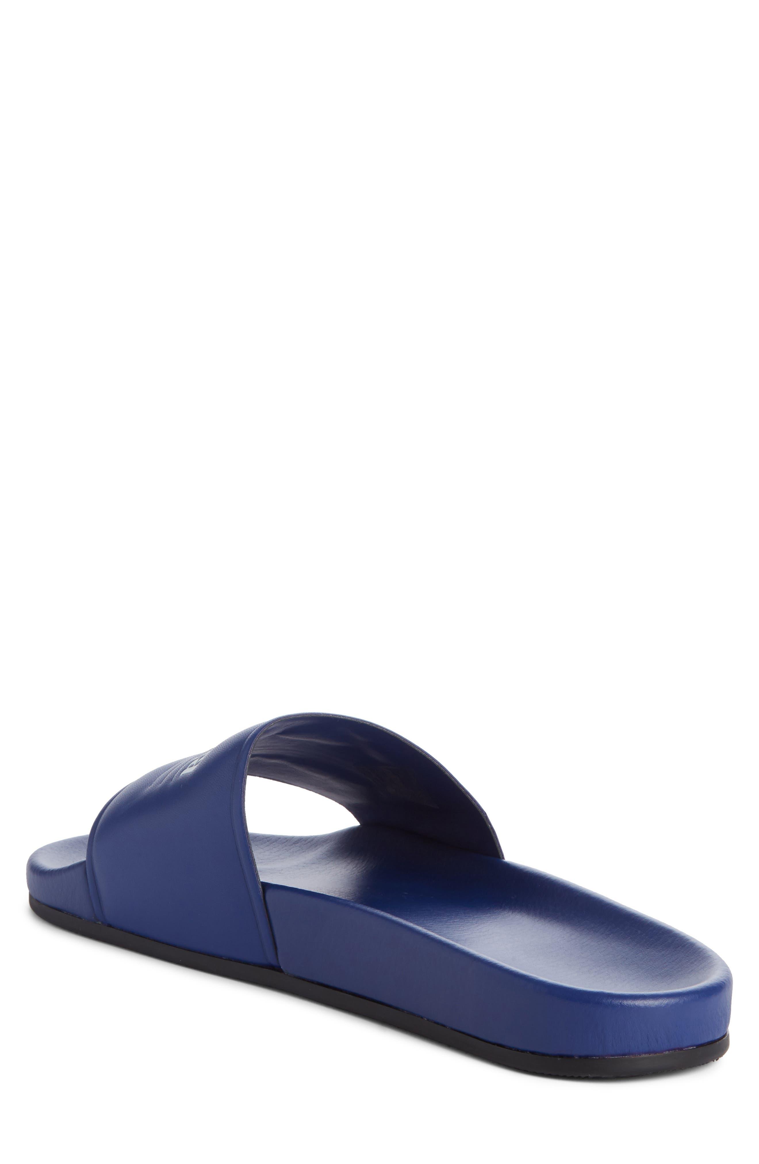 Alternate Image 2  - Balenciaga Retro Logo Slide Sandal (Men)