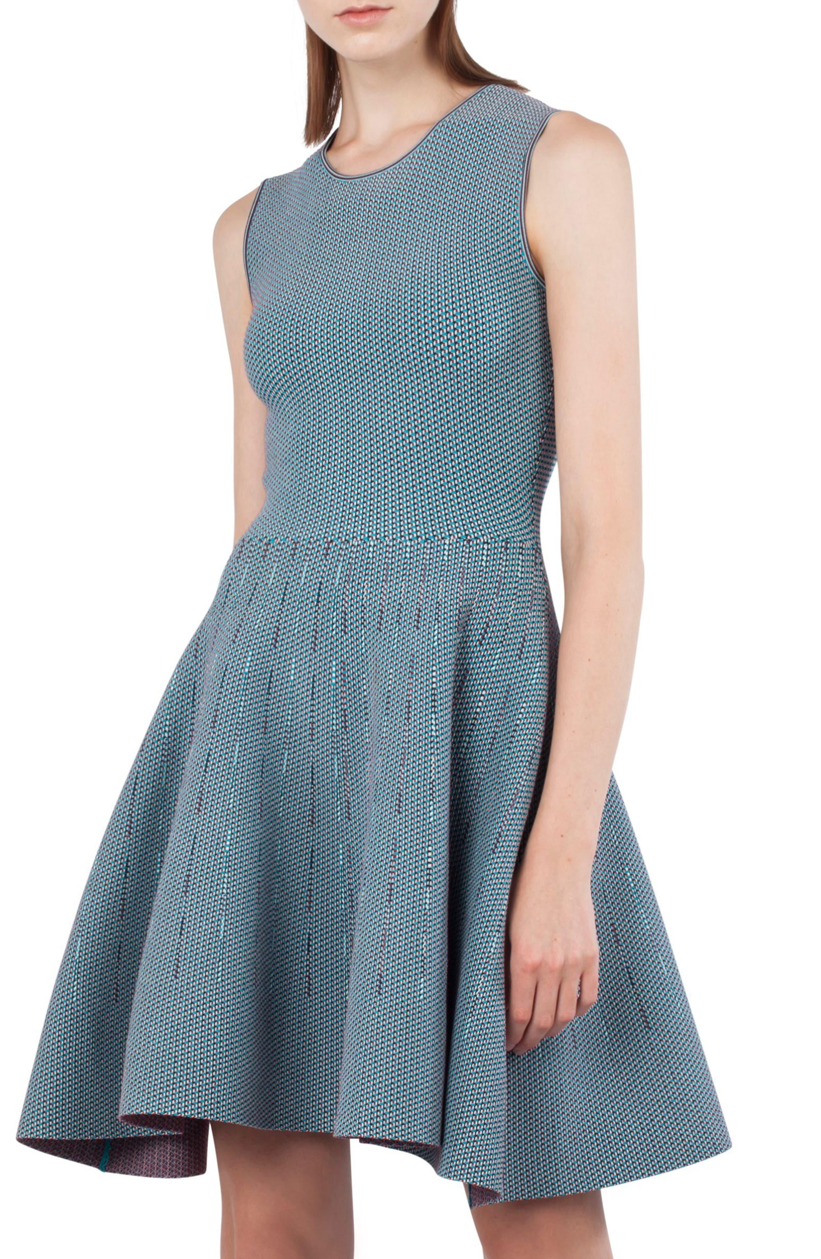 Akris punto Fantasy Jacquard Knit Dress