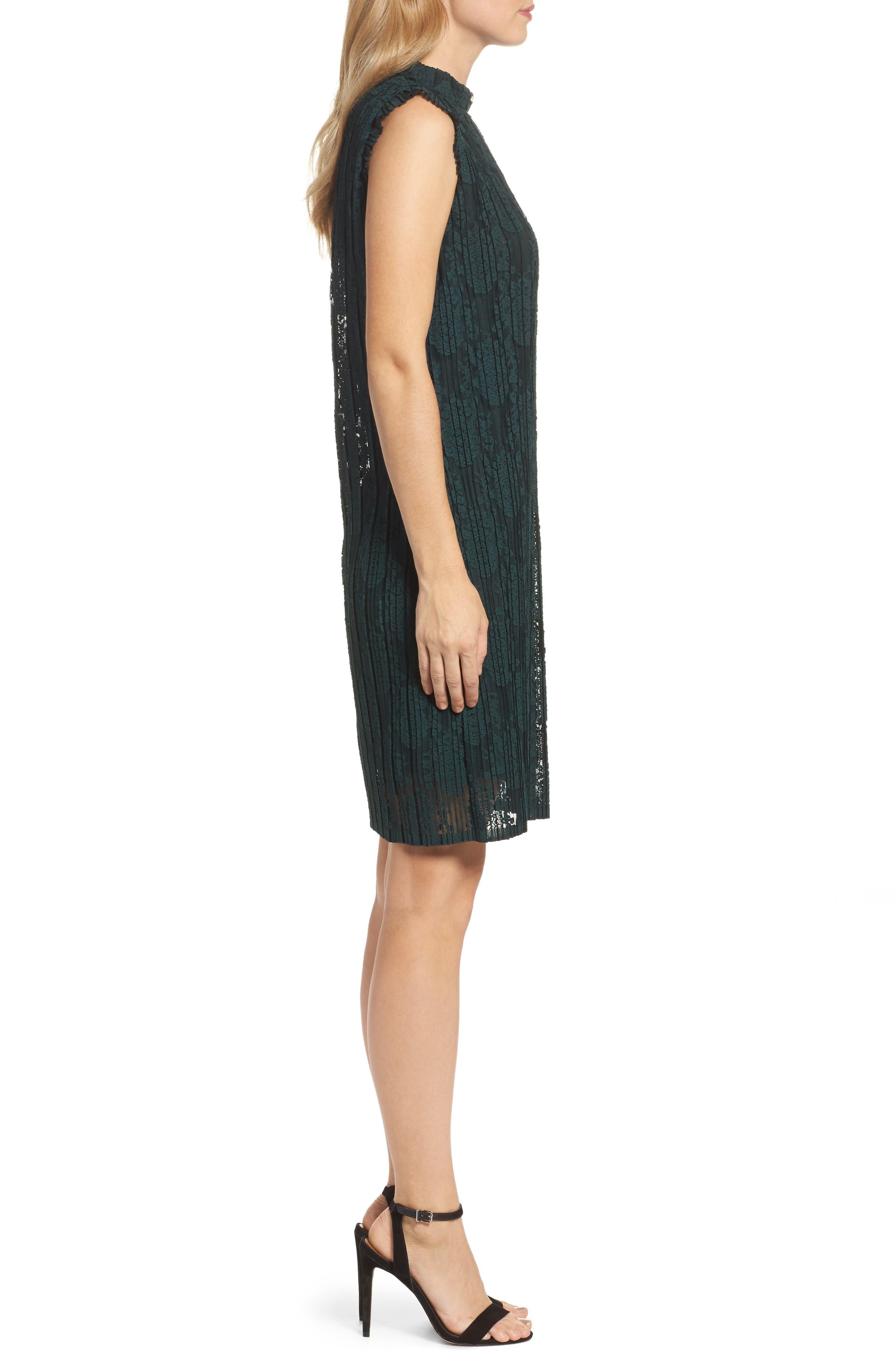 Alternate Image 3  - Julia Jordan Sleeveless Shift Dress