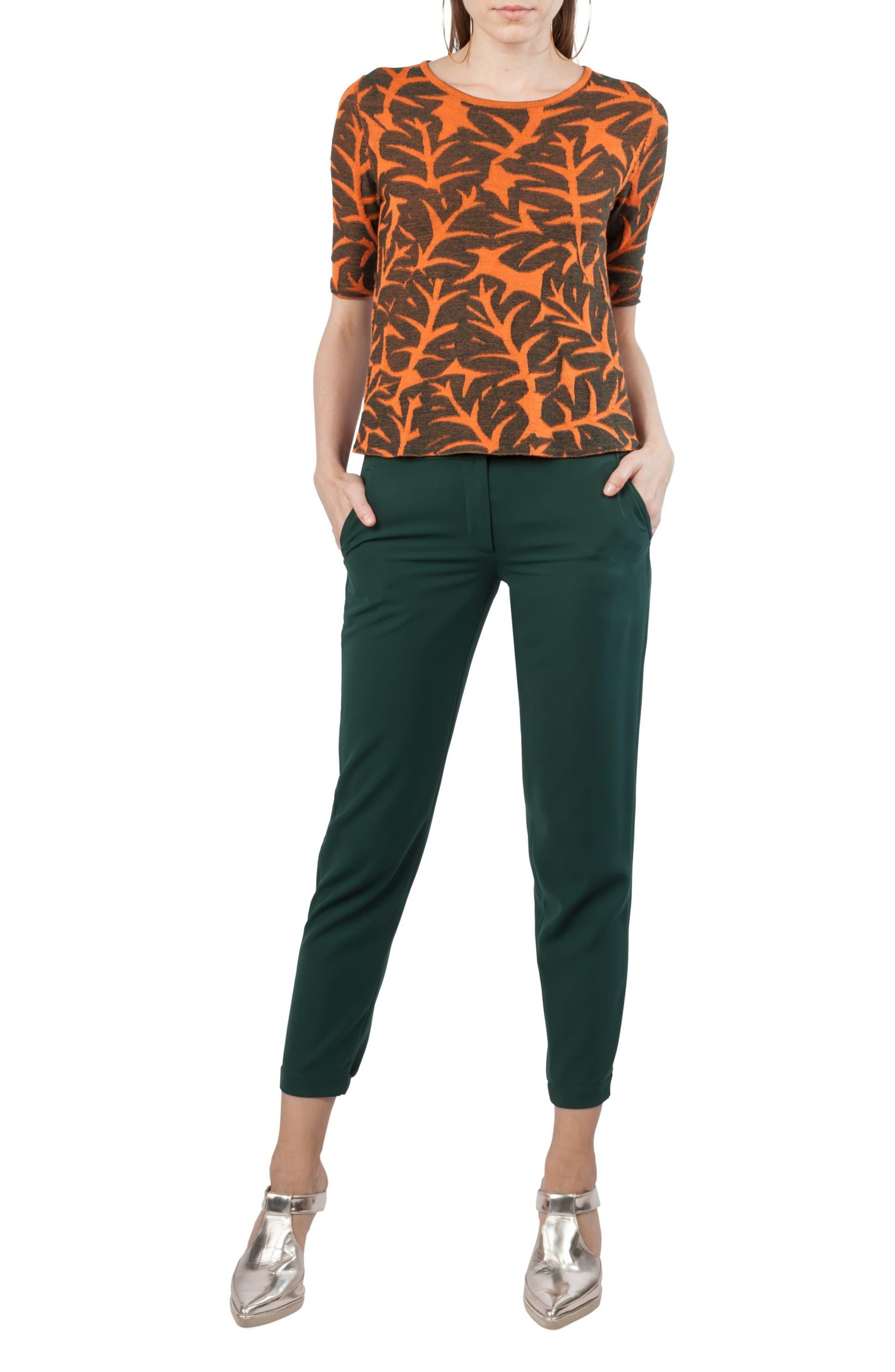 Florette Cargo Pants,                             Alternate thumbnail 6, color,                             Palm Leaf