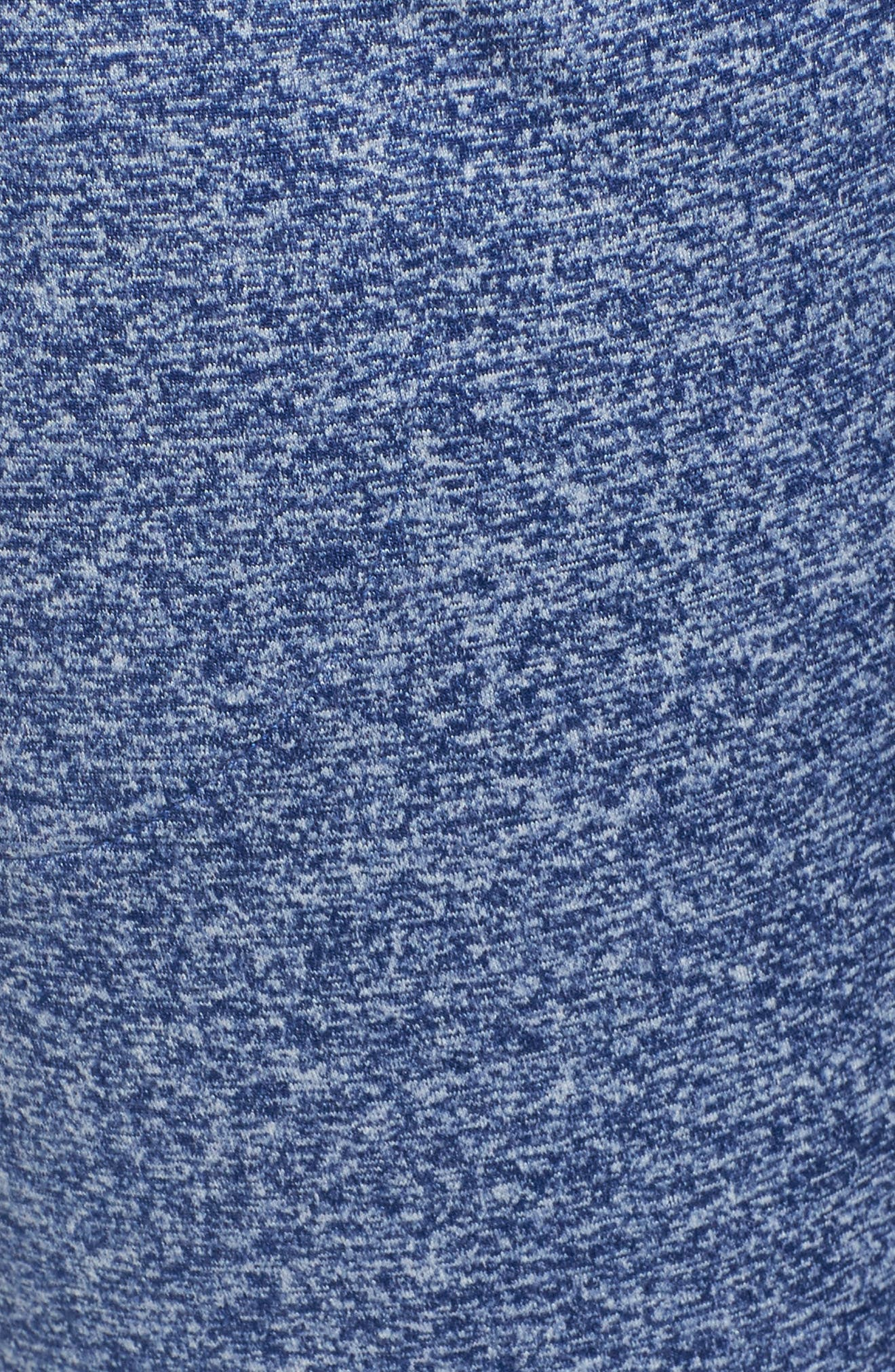 Taryn Sport Knit Pants,                             Alternate thumbnail 6, color,                             Blue Depths Melange