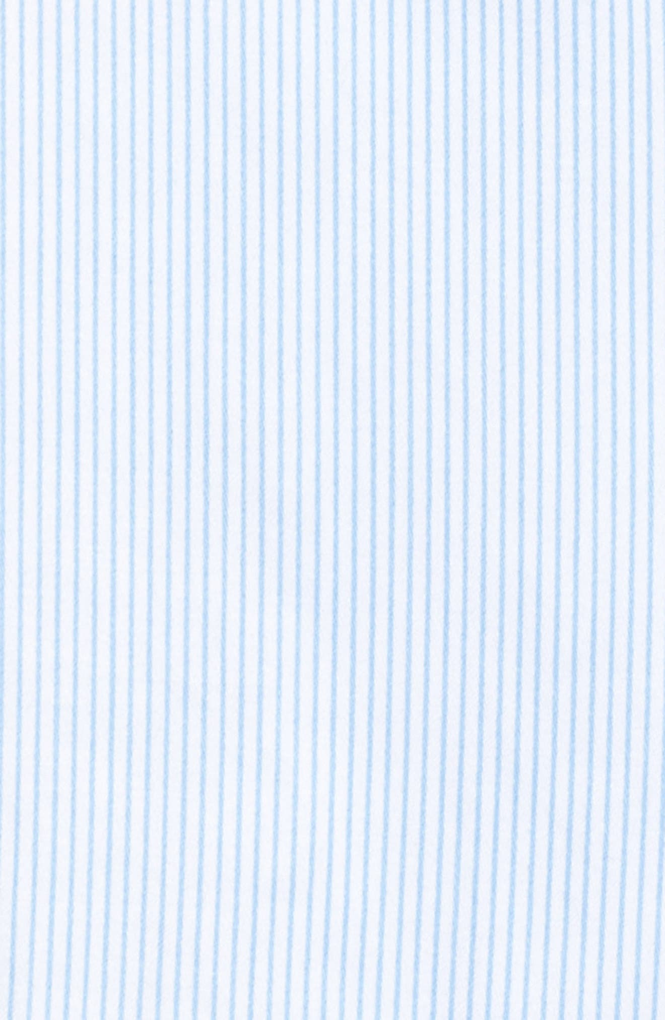 Alternate Image 5  - Lauren Ralph Lauren Stripe Sateen Pajamas