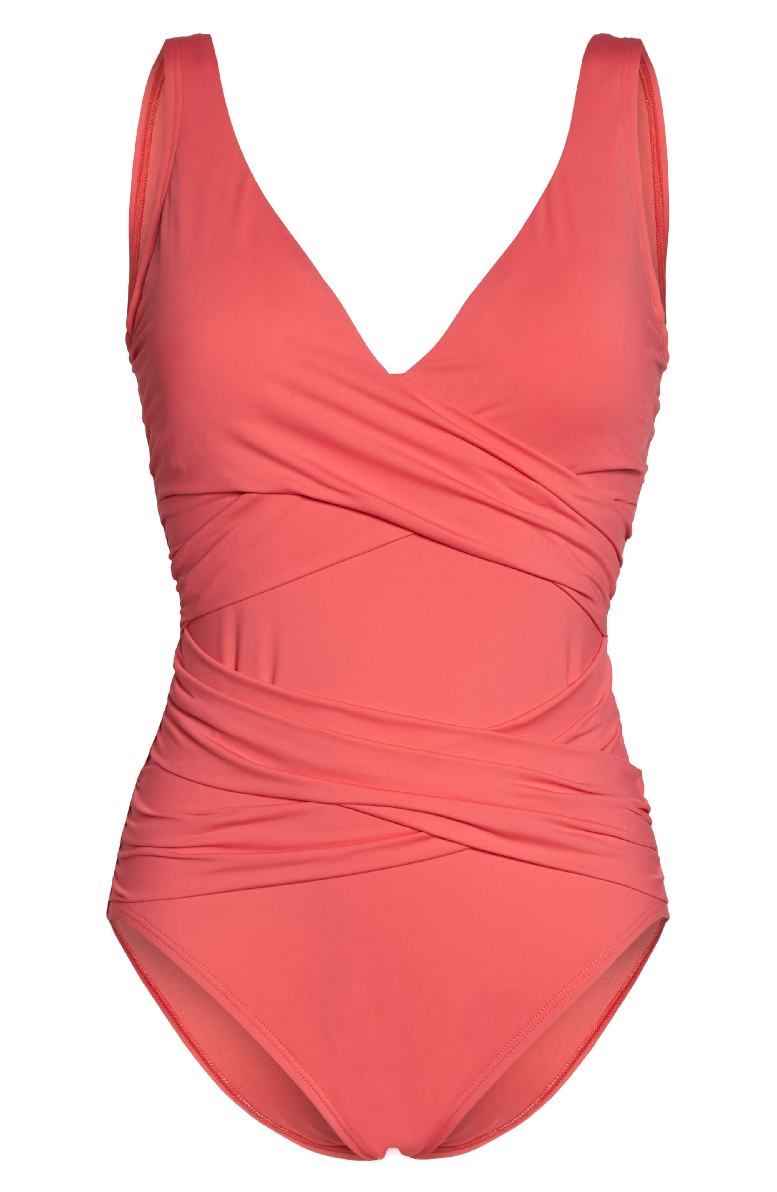 Alternate Image 6  - Tommy Bahama Pearl One-Piece Swimsuit