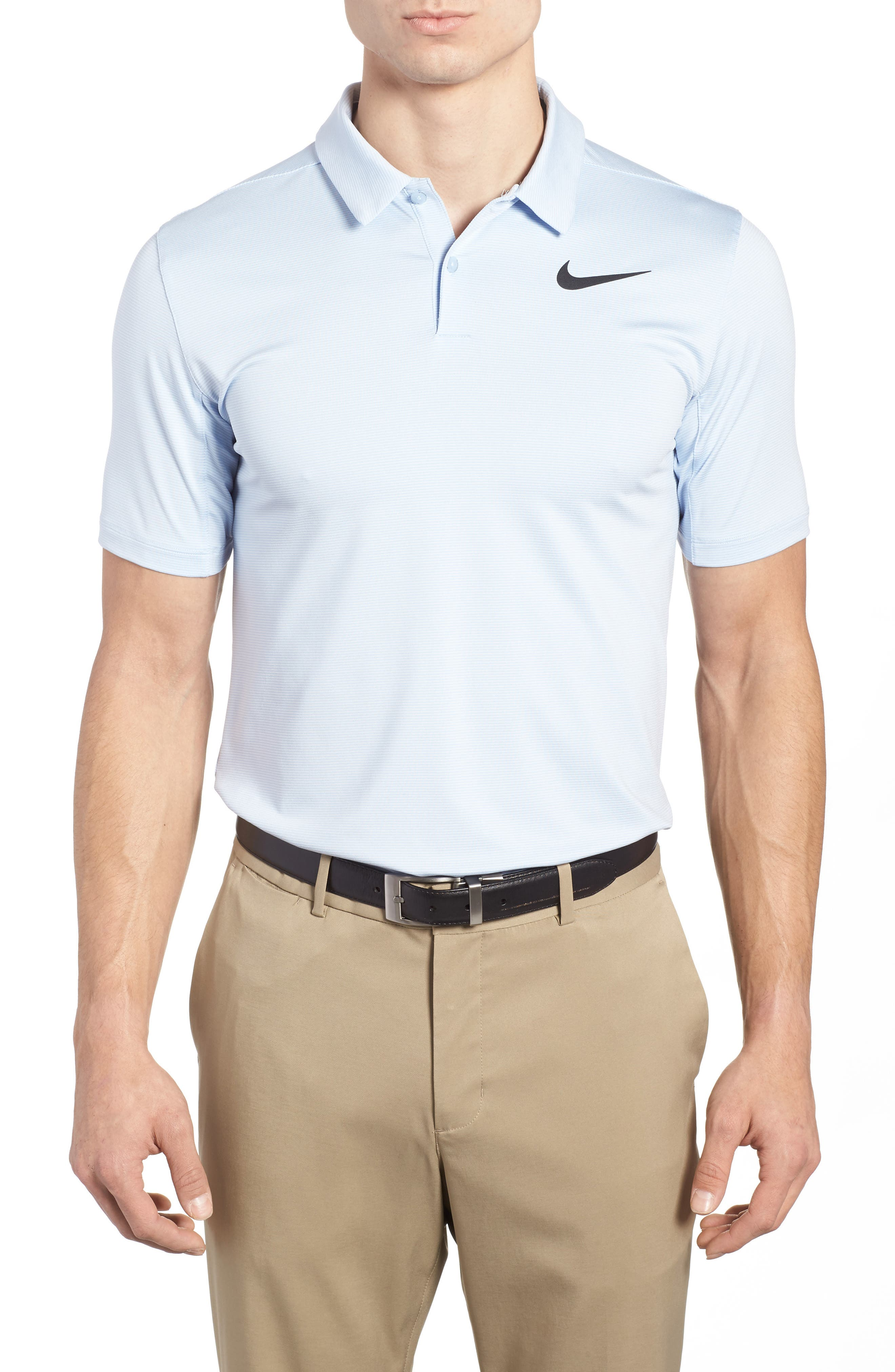Alternate Image 1 Selected - Nike Dry Control Stripe Polo