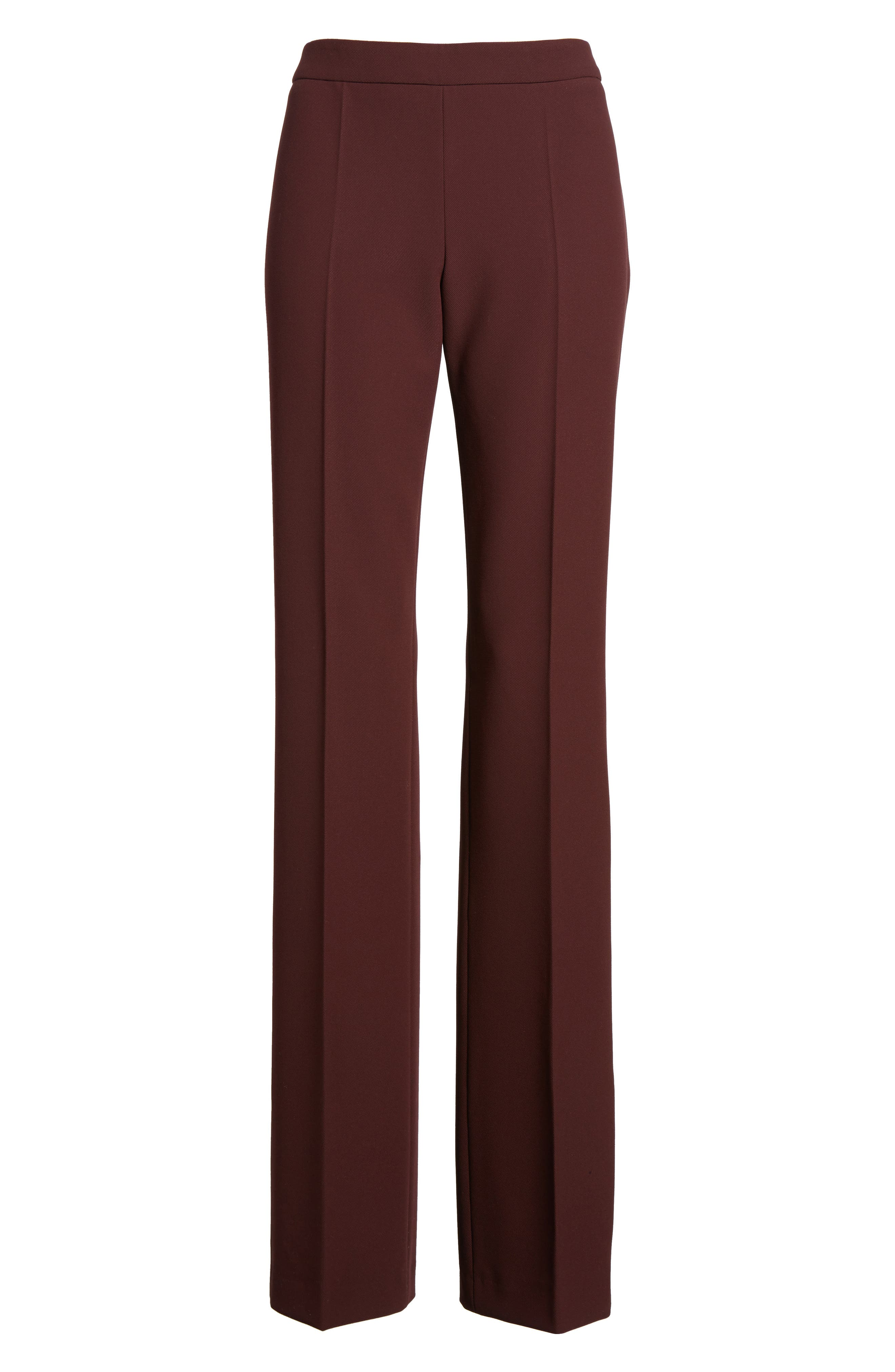 Side Zip Suit Trousers,                             Alternate thumbnail 7, color,                             Mulberry